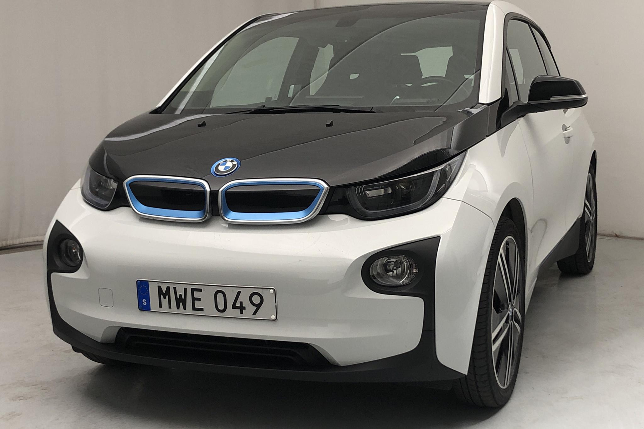 BMW i3 60Ah REX, I01 (170hk) - 6 820 mil - Automat - vit - 2016