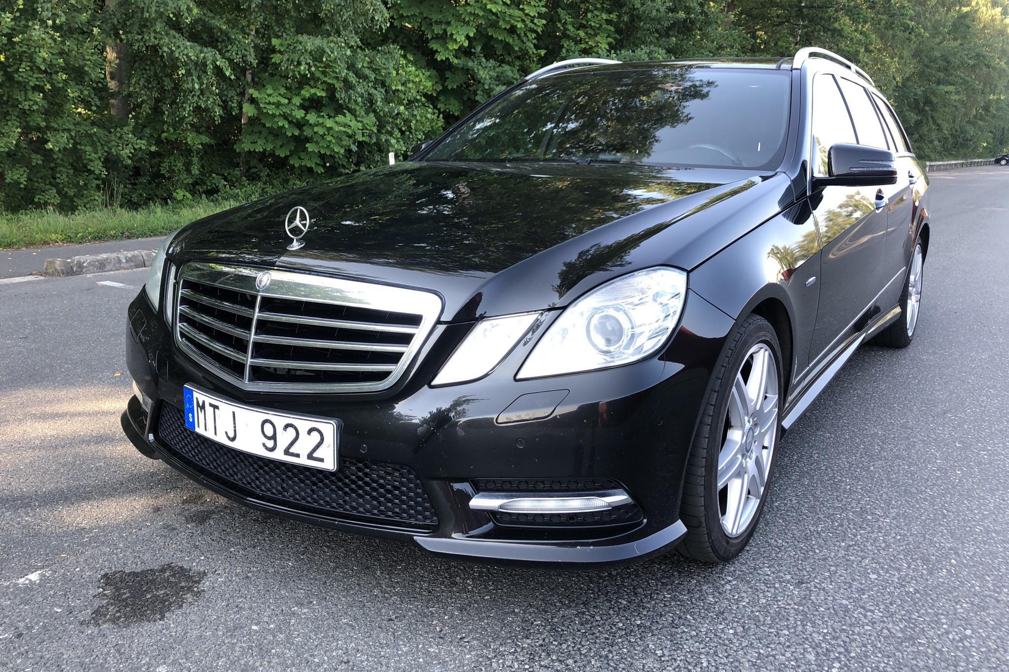 Mercedes E 220 CDI Kombi S212 (170hk) - 182 770 km - Automatic - black - 2012