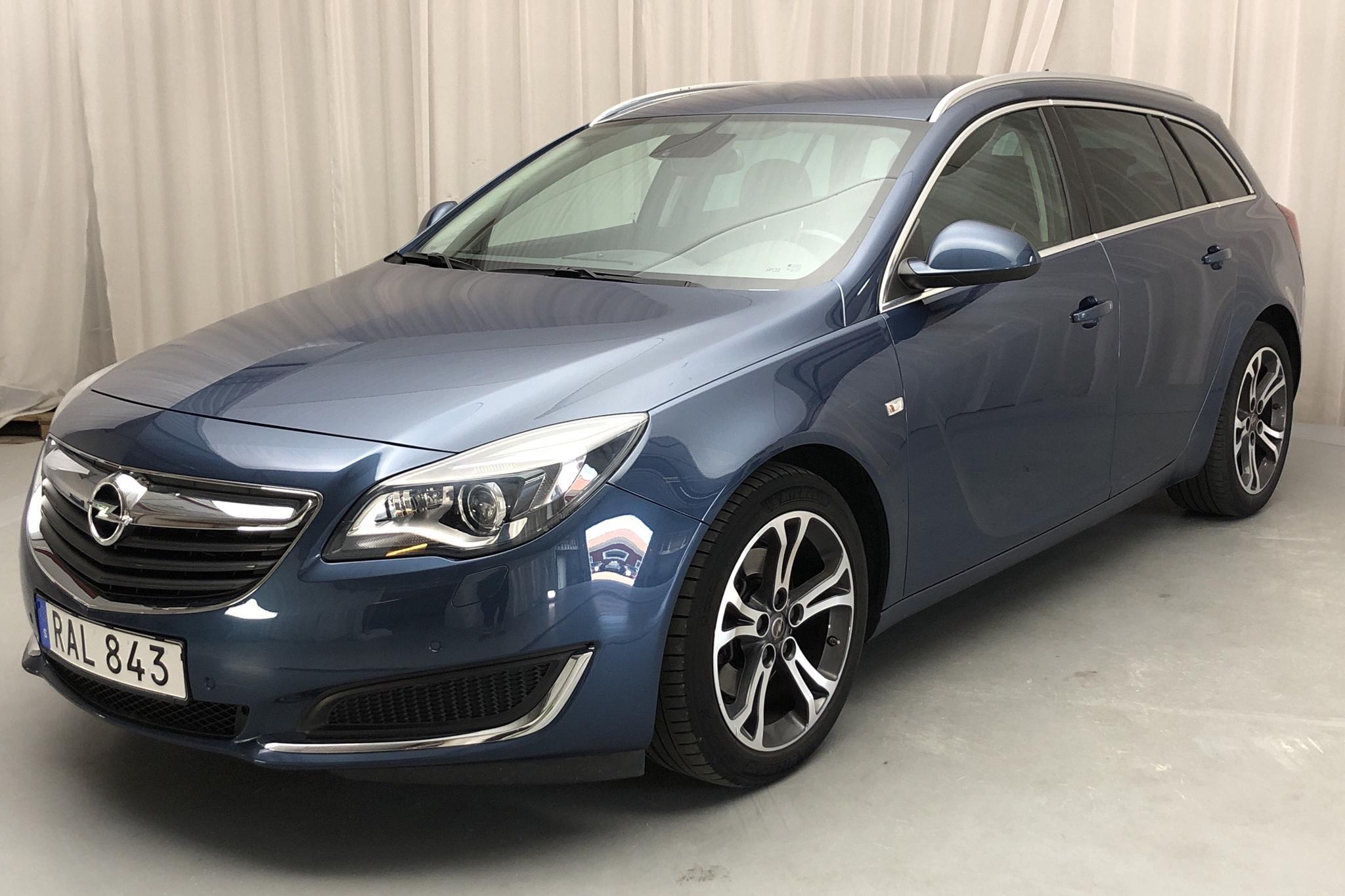 Opel Insignia 2.0 CDTI ECOTEC Sports Tourer (170hk) - 7 861 mil - Manuell - blå - 2016