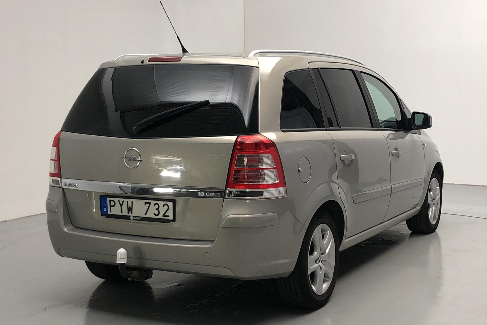 Opel Zafira II 1.9 CDTI (150hk) - 153 730 km - Manual - gray - 2010