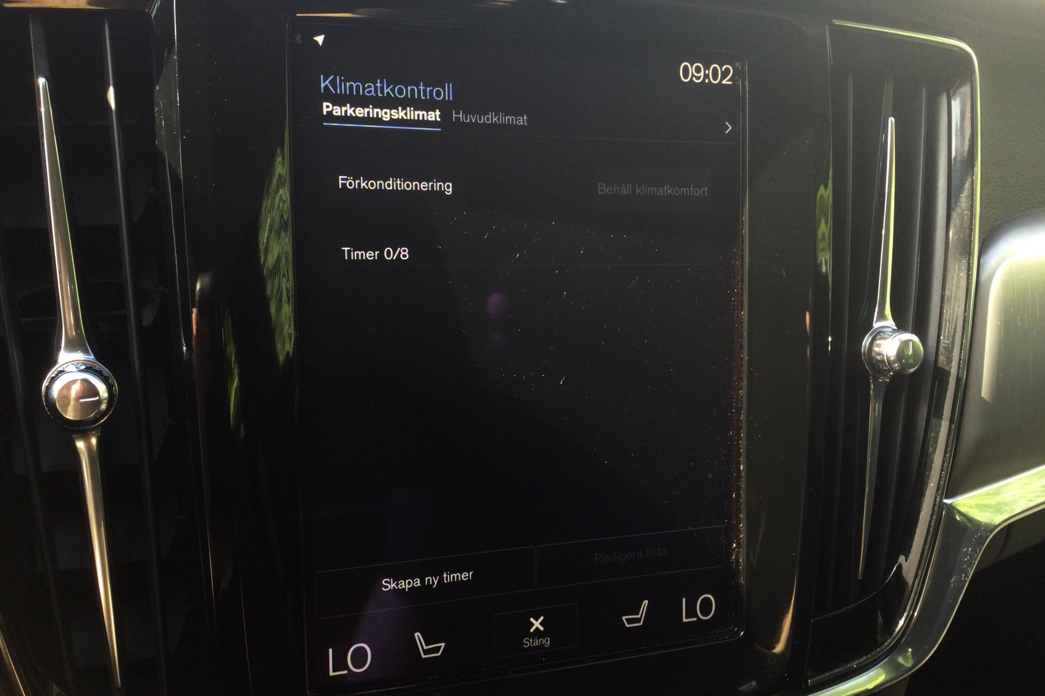 Volvo S90 D3 (150hk) - 78 160 km - Automatic - black - 2018