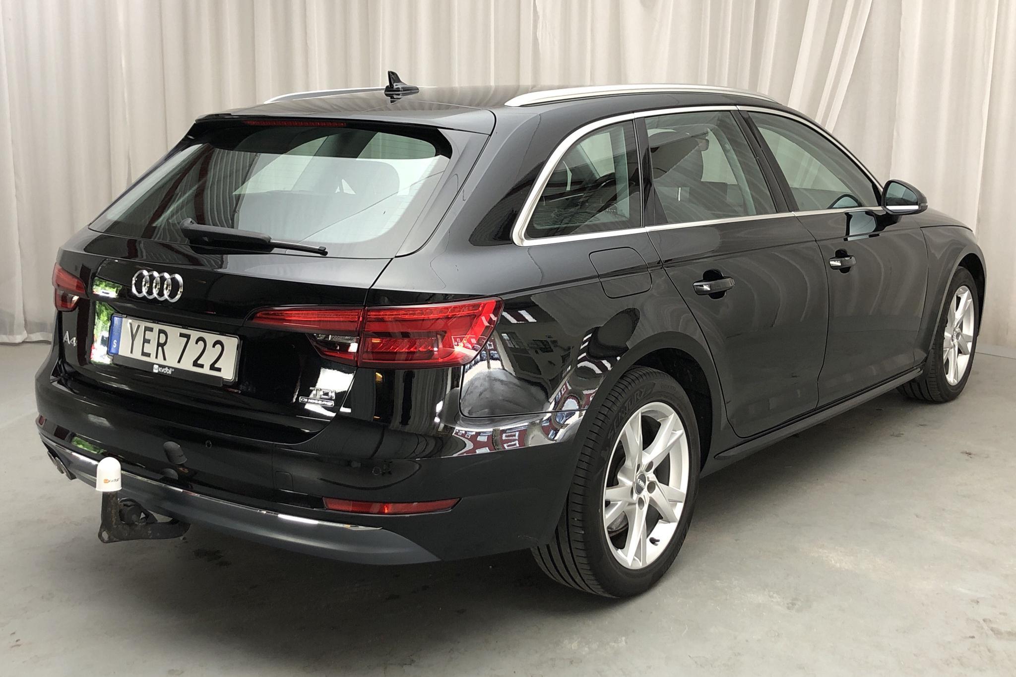 Audi A4 2.0 TDI Avant quattro (190hk) - 101 270 km - Automatic - black - 2016
