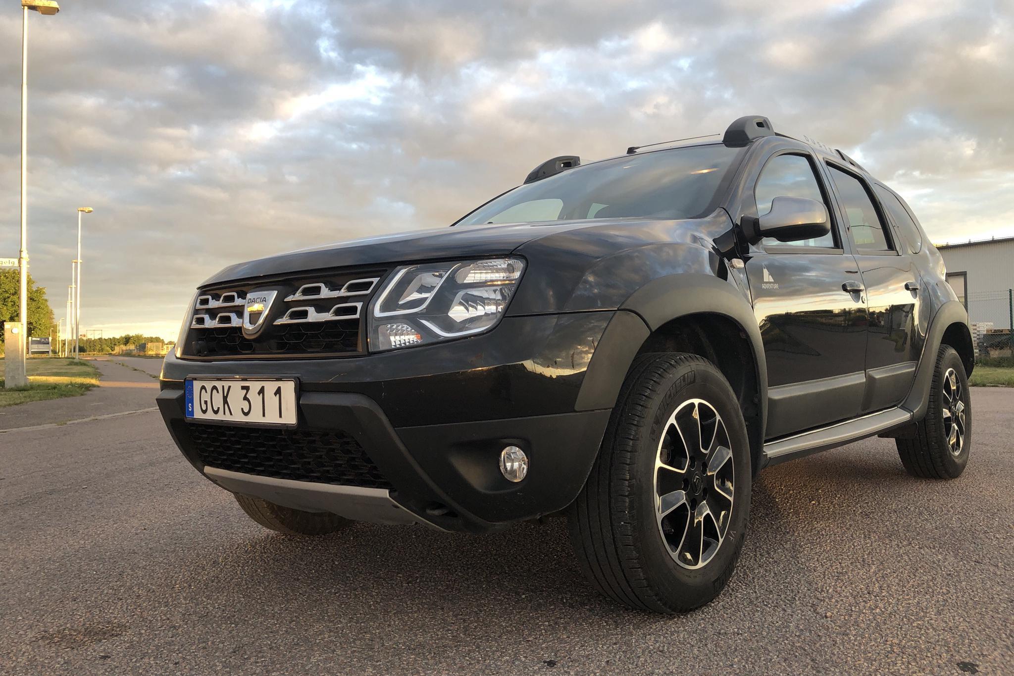 Dacia Duster 1.5 dCi 4x4 (109hk) - 70 920 km - Manual - black - 2016