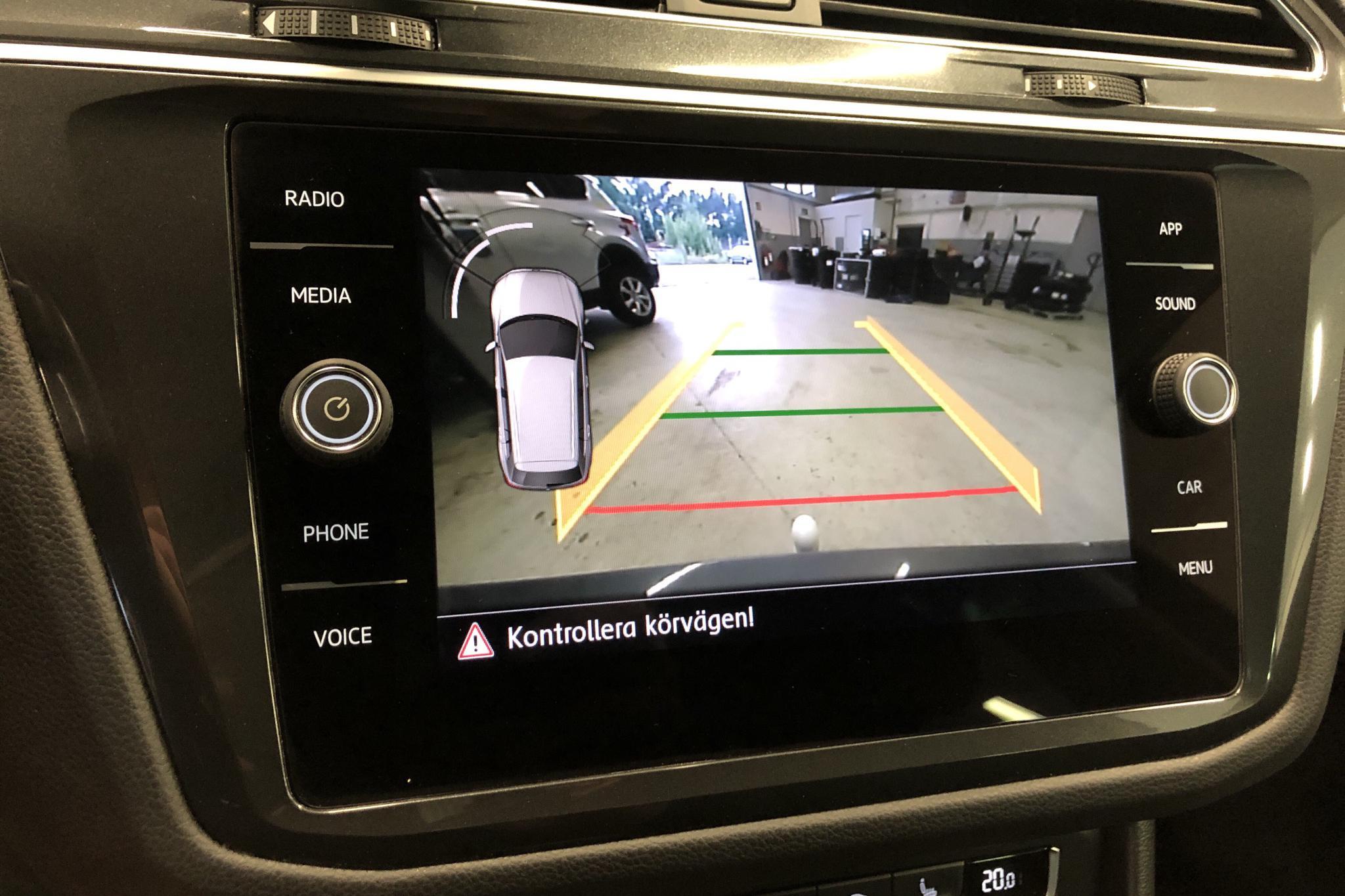 VW Tiguan 2.0 TDI 4MOTION (190hk) - 14 621 mil - Automat - silver - 2018