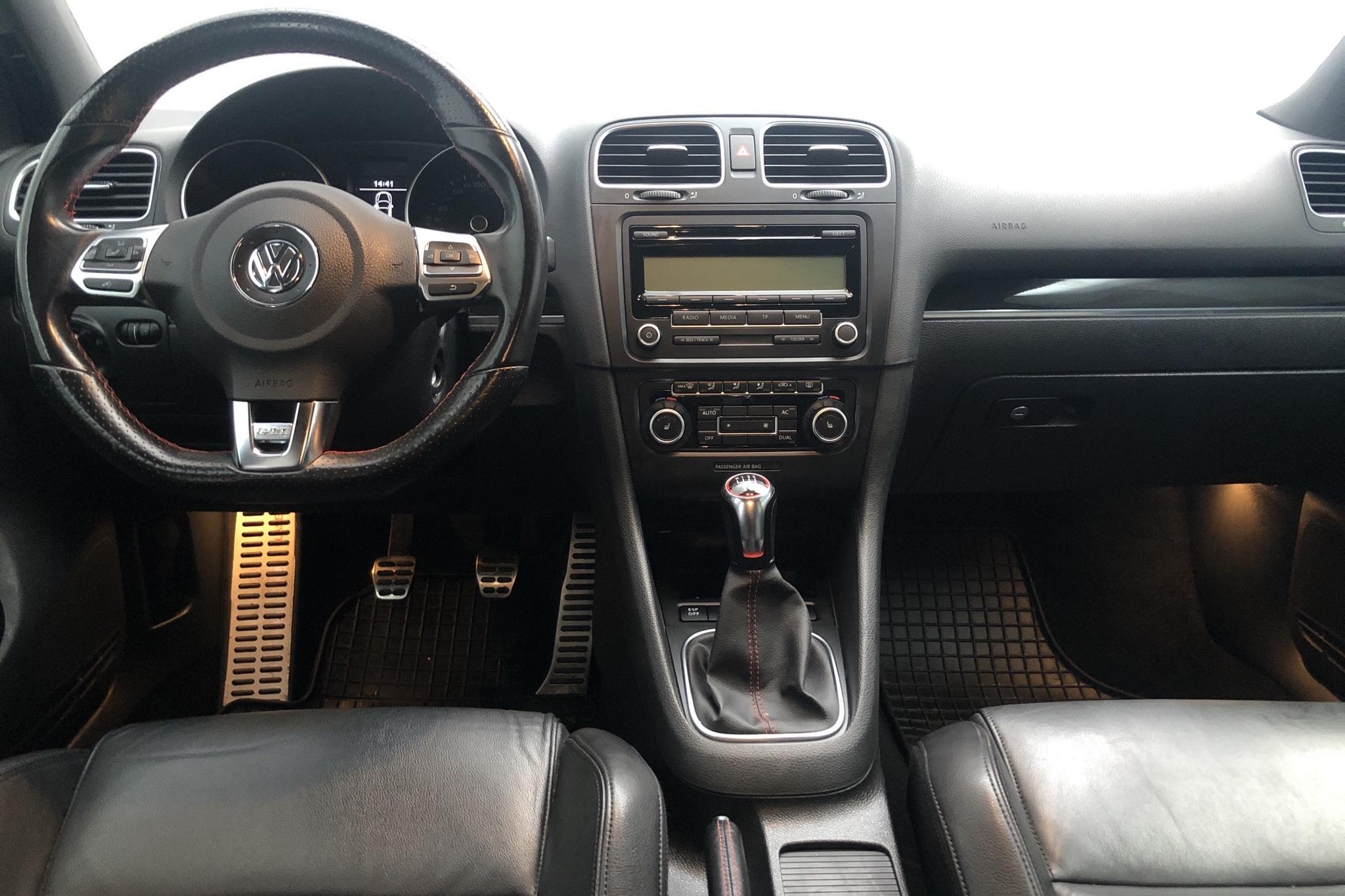 VW Golf VI GTI 2.0 TSI 5dr (211hk) - 124 170 km - Manual - Dark Grey - 2010