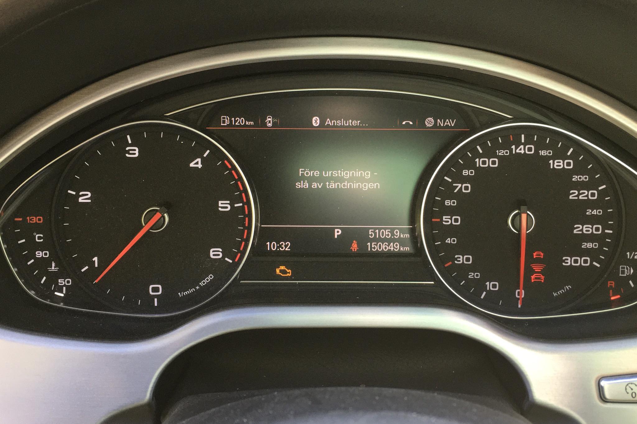 Audi A8 3.0 TDI quattro (262hk) - 150 640 km - Automatic - Dark Blue - 2016