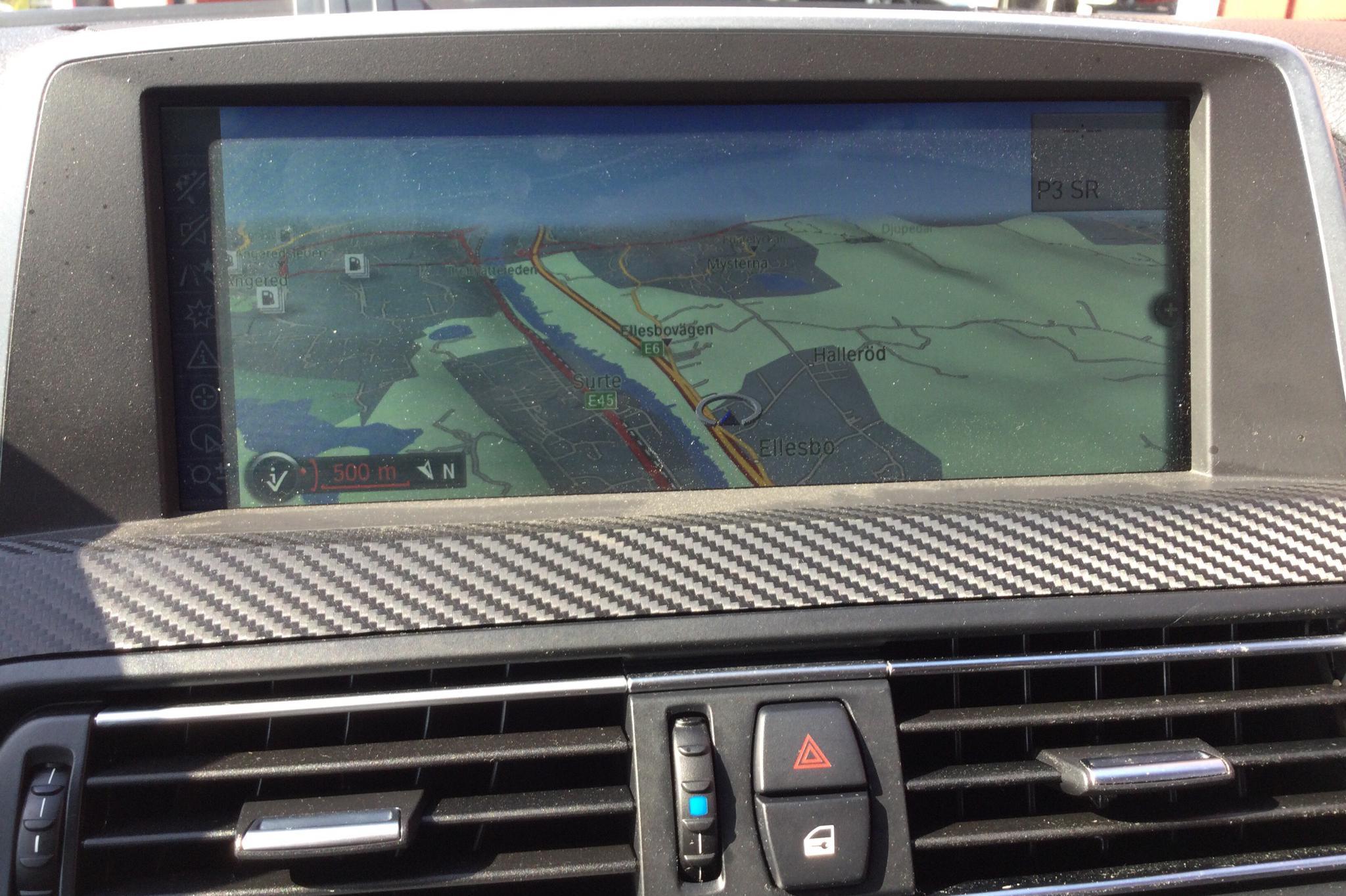 BMW 650i Cabriolet, F12 (408hk) - 12 634 mil - Automat - svart - 2011