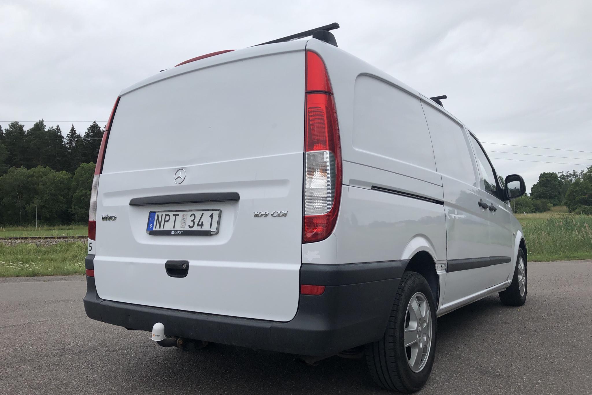 Mercedes Vito 109 CDI Skåp W639 (95hk) - 95 850 km - Manual - white - 2009