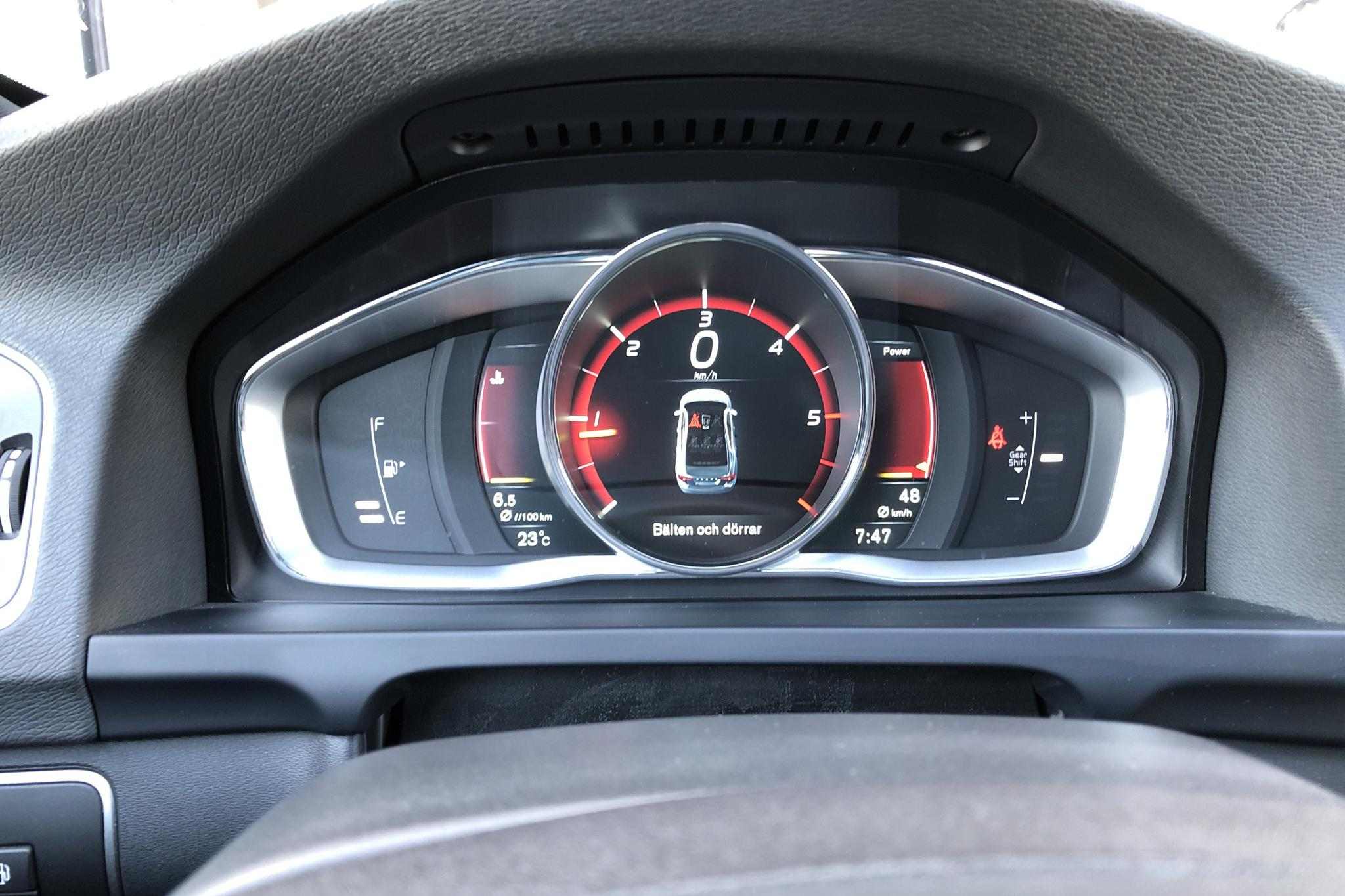 Volvo S60 D4 (190hk) - 14 117 mil - Manuell - grå - 2016