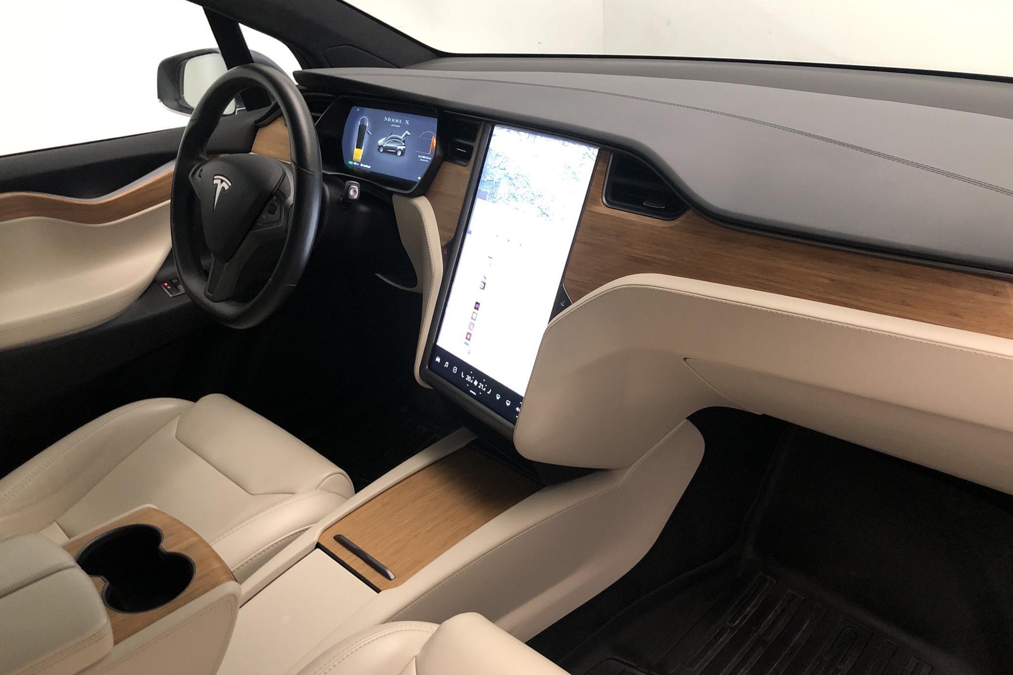 Tesla Model X Long Range - 60 350 km - Automatic - gray - 2019
