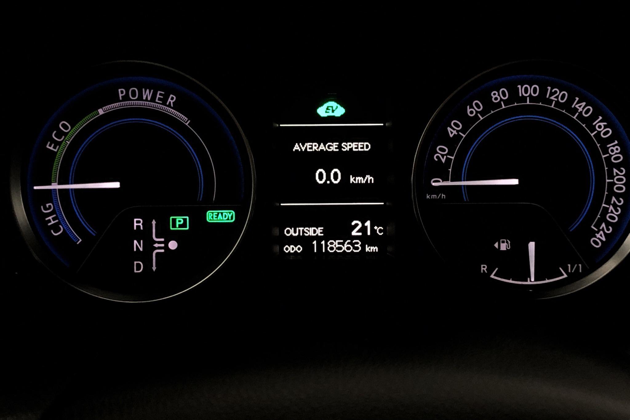 Toyota Auris 1.8 HSD Touring Sports (99hk) - 118 560 km - Automatic - silver - 2014