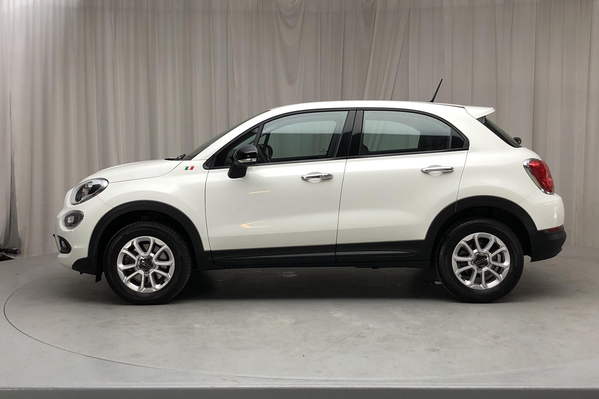 Fiat 500X 1.4 M-Air (140hk) - 20 670 km - Automatic - white - 2018