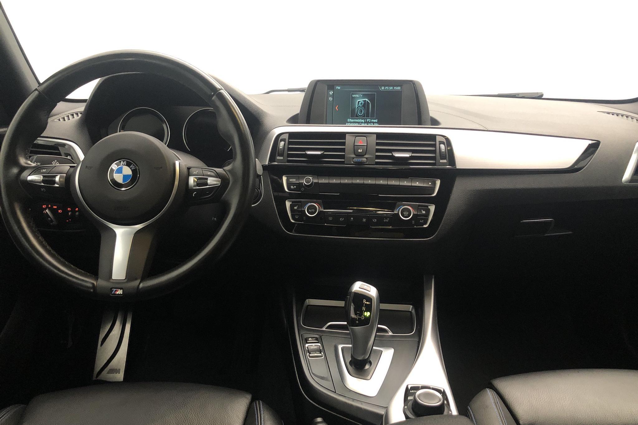 BMW 120i 5dr, F20 (184hk) - 49 110 km - Automatic - white - 2019