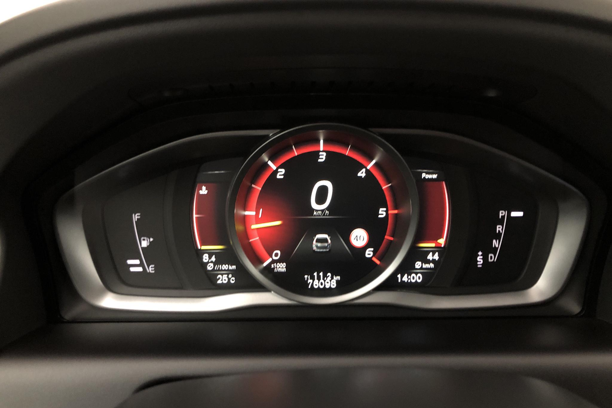 Volvo XC60 D4 AWD (190hk) - 7 610 mil - Automat - svart - 2017