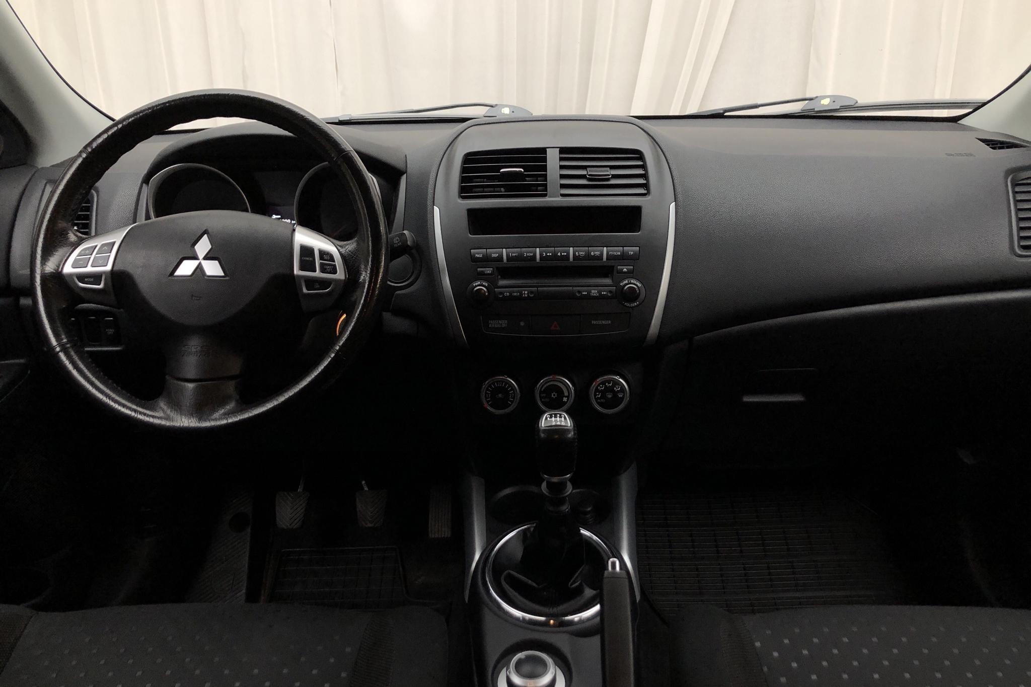Mitsubishi ASX 1.8 D 4WD (150hk) - 15 466 mil - Manuell - Dark Grey - 2011