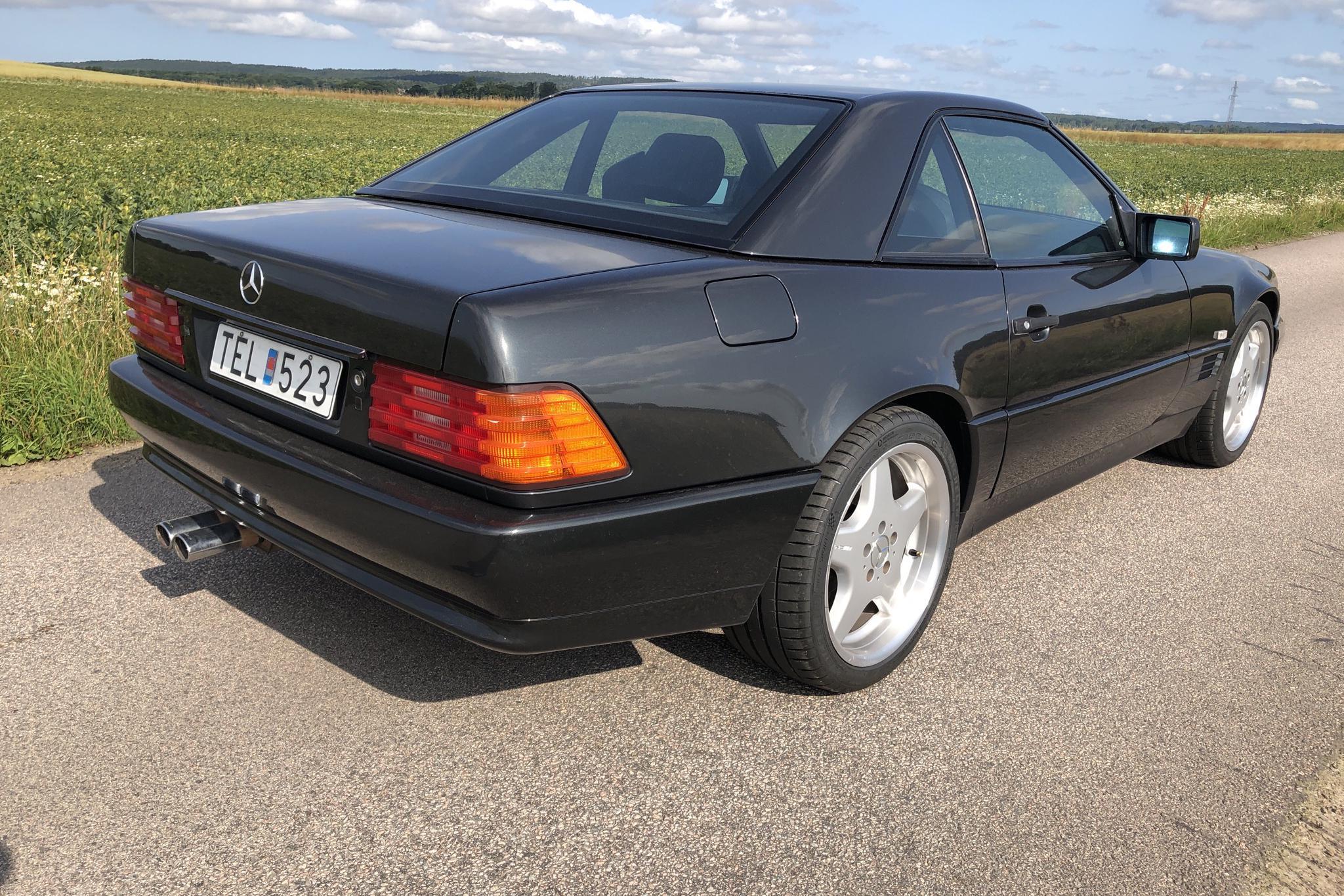 Mercedes SL 500 R129 (320hk) - 17 622 mil - Automat - Dark Grey - 1994