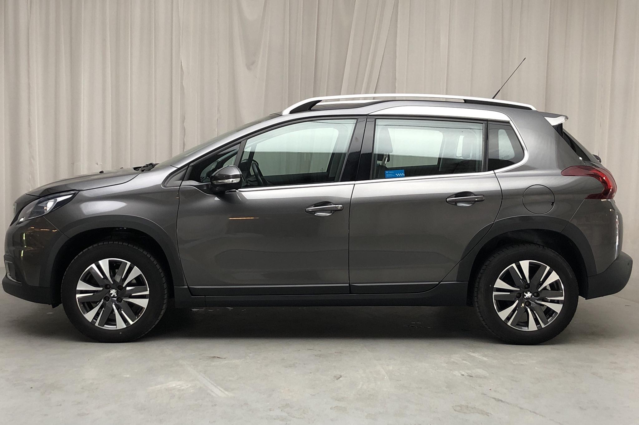 Peugeot 2008 1.2 PureTech (110hk) - 2 516 mil - Automat - Dark Grey - 2018