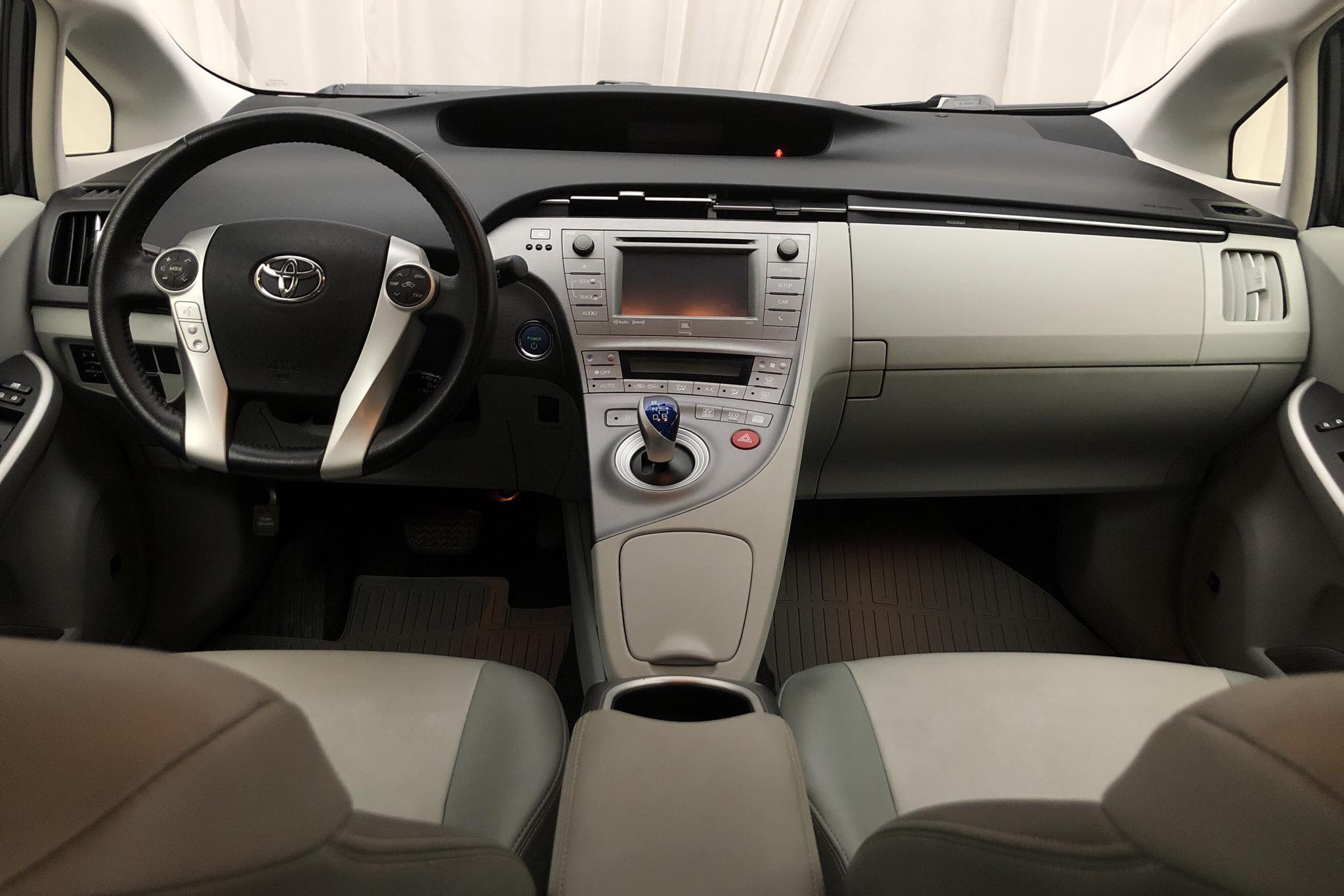 Toyota Prius 1.8 Hybrid (136hk) - 129 600 km - Automatic - Dark Grey - 2012