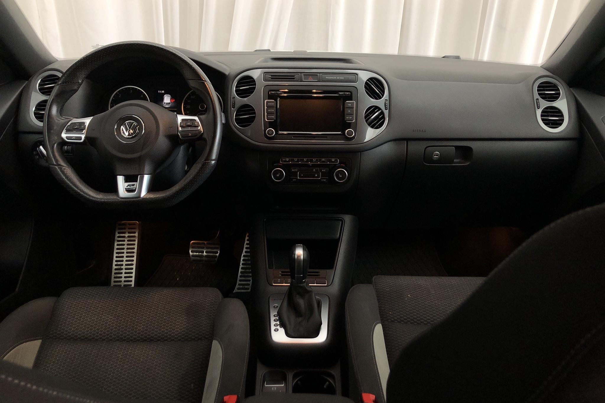 VW Tiguan 2.0 TDI 4MOTION BlueMotion Technology (177hk) - 47 290 km - Automatic - white - 2015