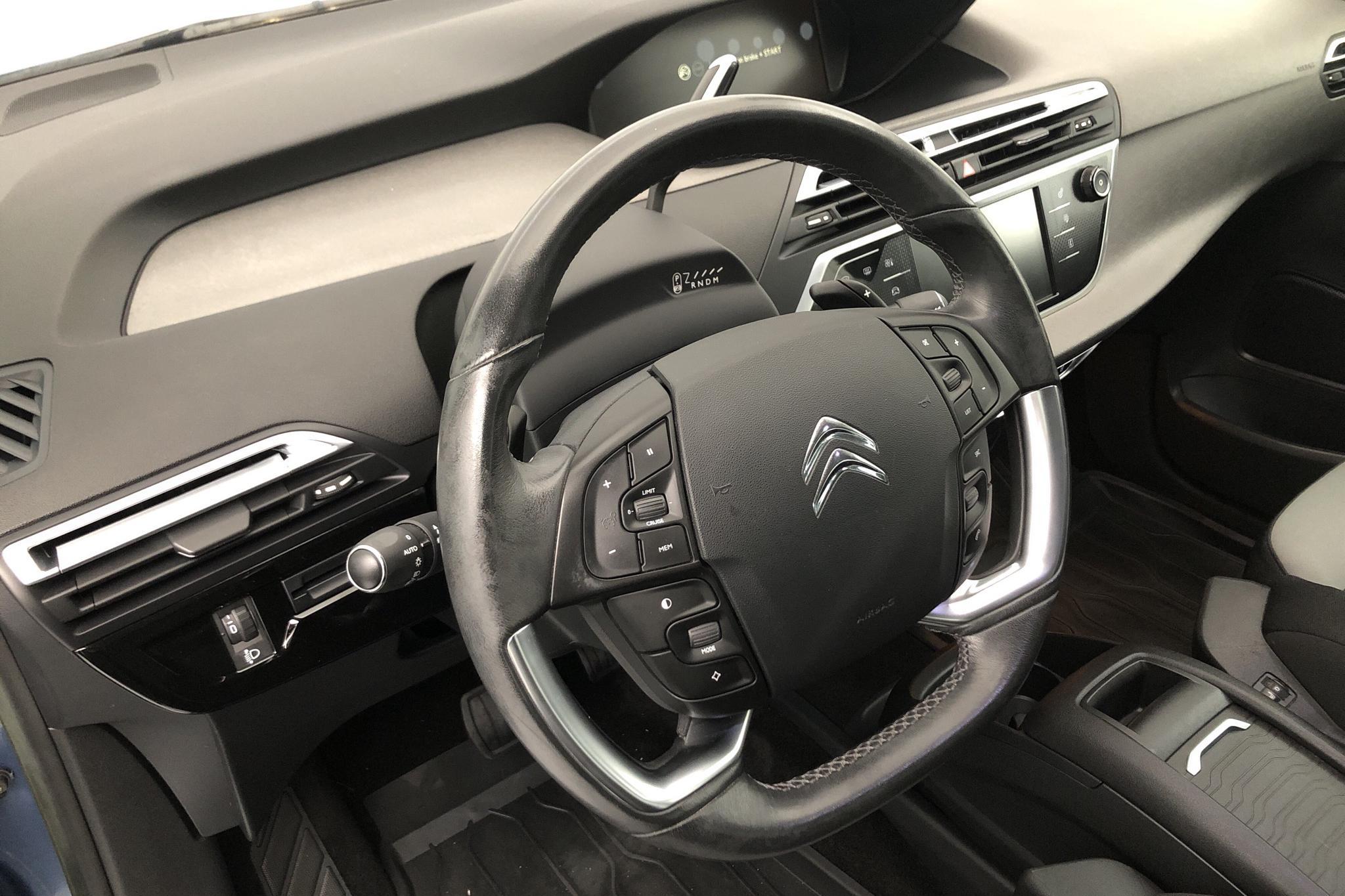 Citroen C4 Grand Picasso BlueHDi (150hk) - 5 090 mil - Automat - blå - 2014
