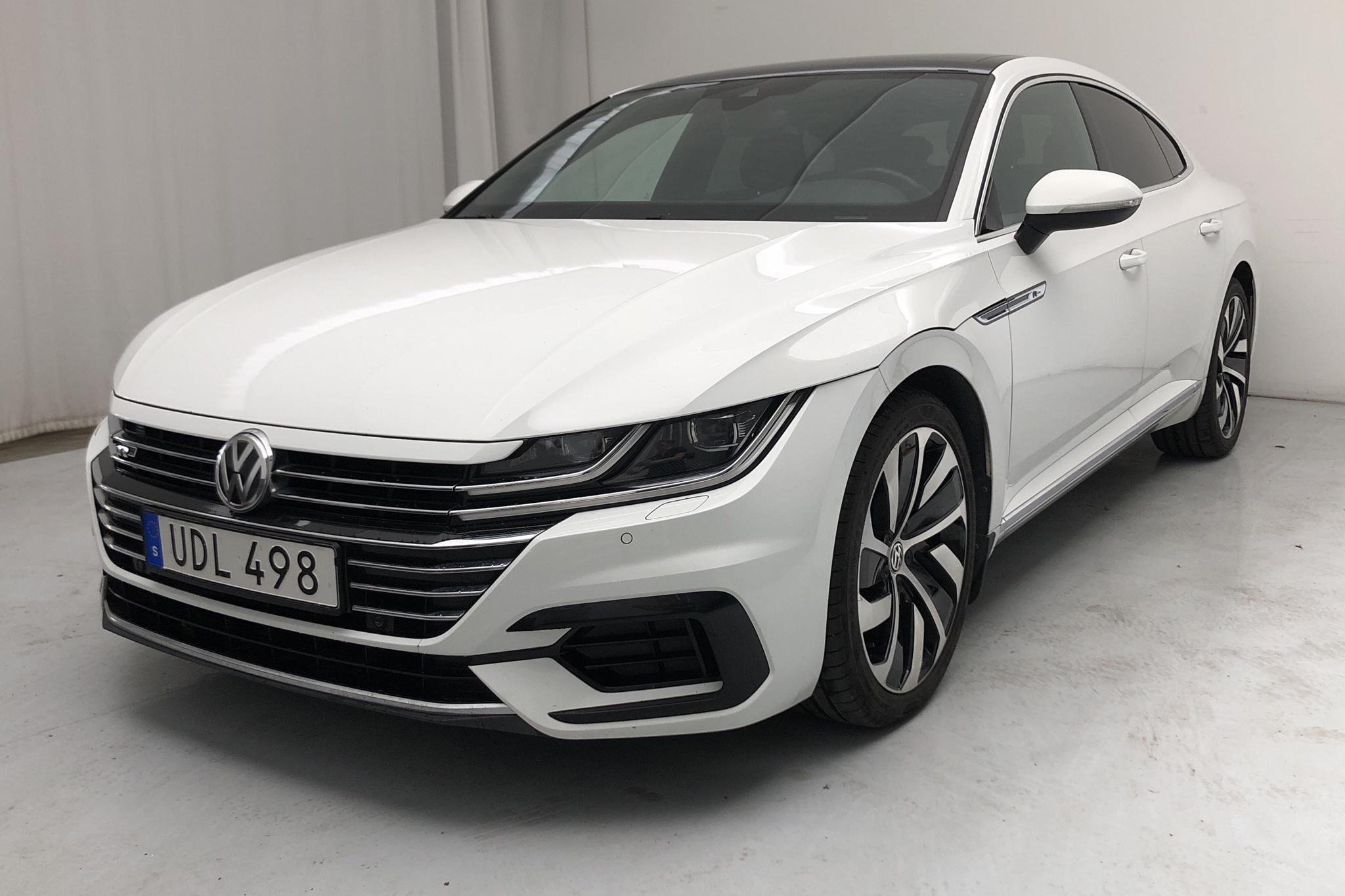 VW Arteon 2.0 TDI 4MOTION (190hk) - 9 921 mil - Automat - vit - 2018