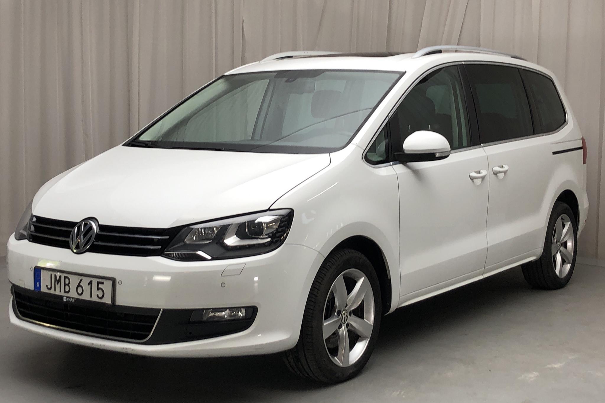 VW Sharan 2.0 TDI BlueMotion Technology 4motion (140hk) - 149 190 km - Manual - white - 2015