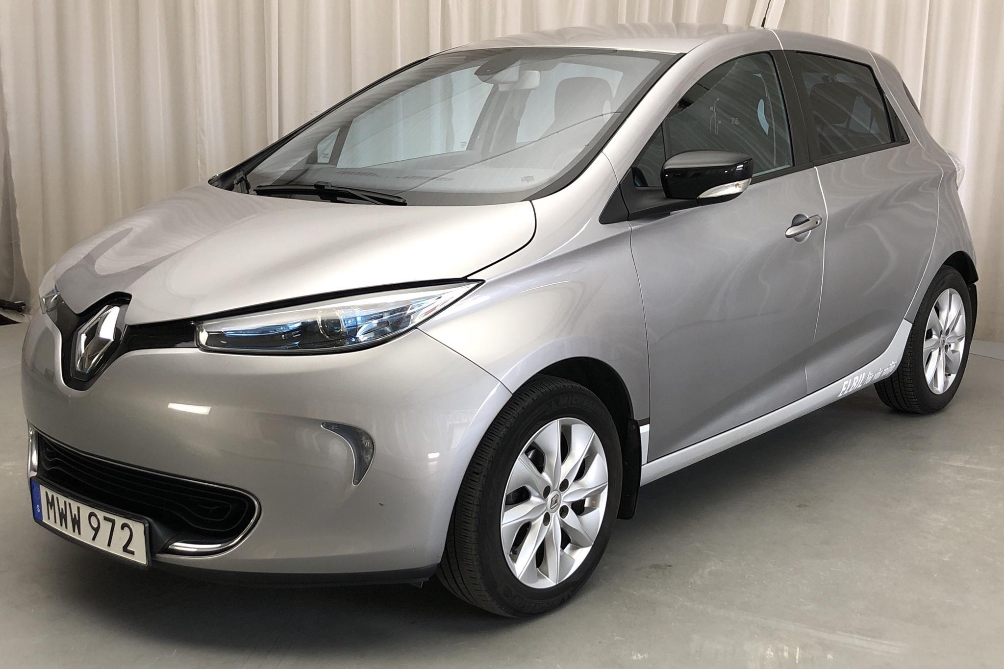Renault Zoe 22 kWh R88 (88hk) - 85 930 km - Automatic - gray - 2016