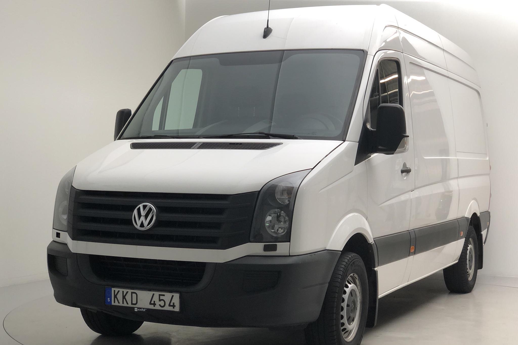 VW Crafter 35 2.0 TDI Skåp (109hk) - 194 440 km - Manual - white - 2013