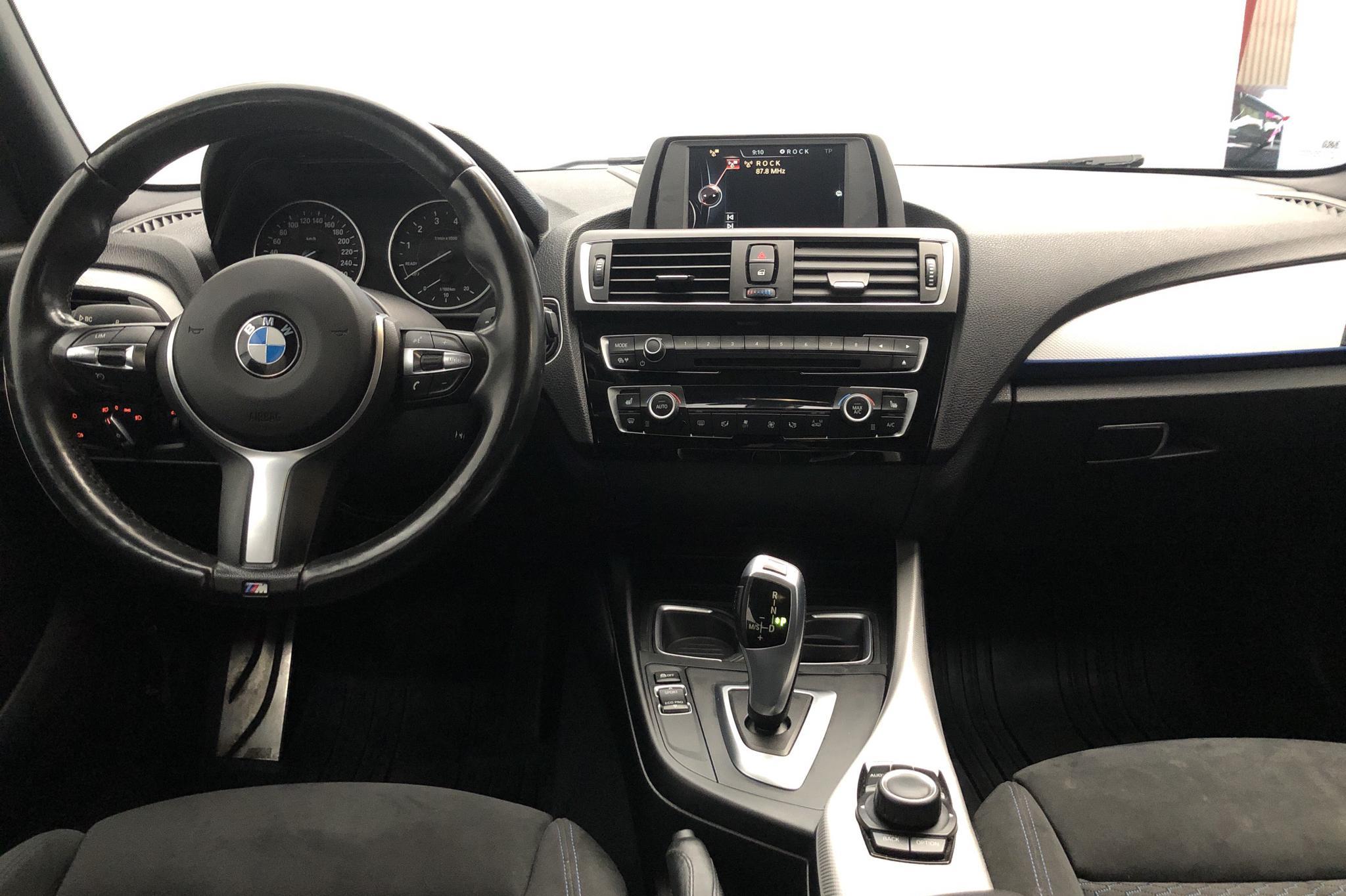 BMW 118i 5dr, F20 (136hk) - 8 910 mil - Automat - blå - 2016