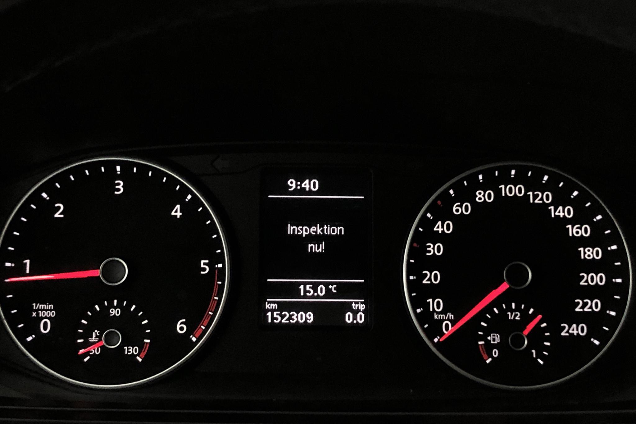 VW Transporter T6 2.0 TDI BMT Skåp (150hk) - 15 231 mil - Manuell - vit - 2017