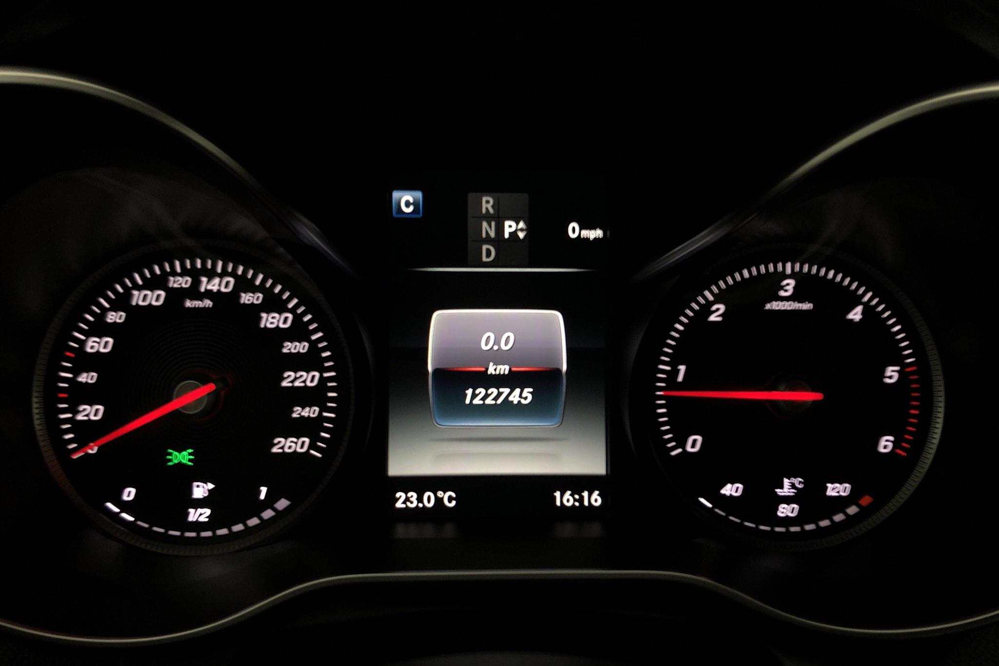Mercedes C 220 d Kombi S205 (170hk) - 12 275 mil - Automat - vit - 2016