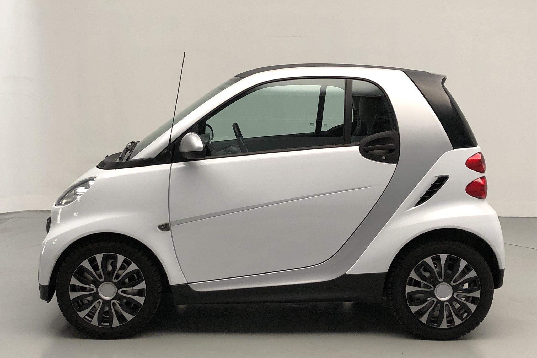 Smart Fortwo II 1.0 mhd Coupé (61hk) - 5 756 mil - Automat - vit - 2014