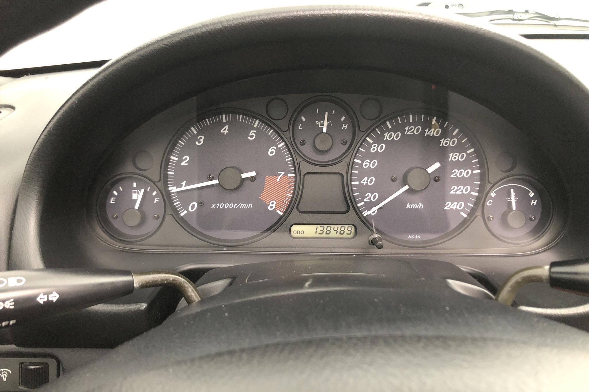 Mazda MX-5 Miata 1.6 (110hk) - 138 490 km - Manual - Dark Green - 1998