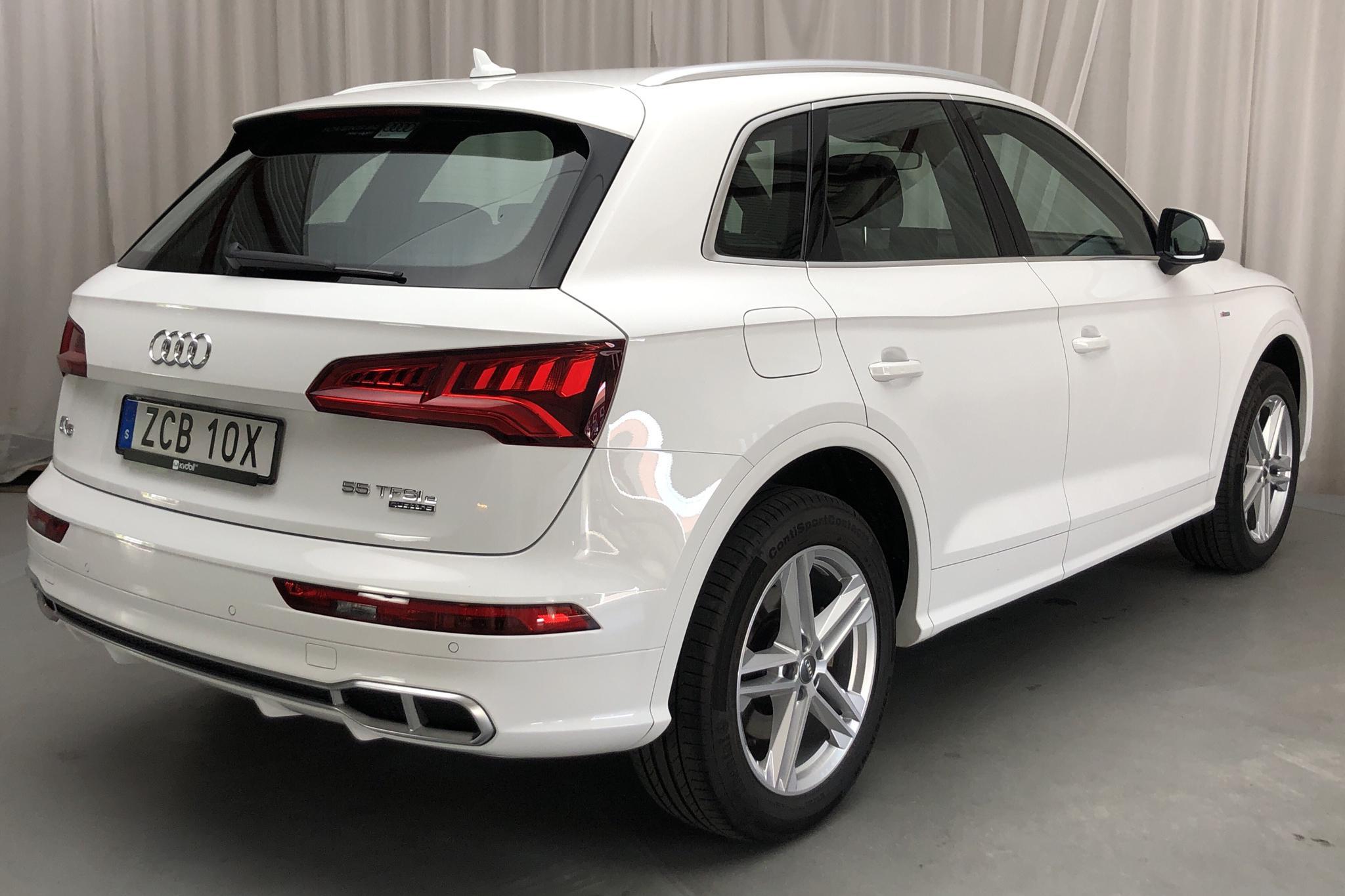Audi Q5 55 TFSI e quattro (367hk) - 16 750 km - Automatic - white - 2020