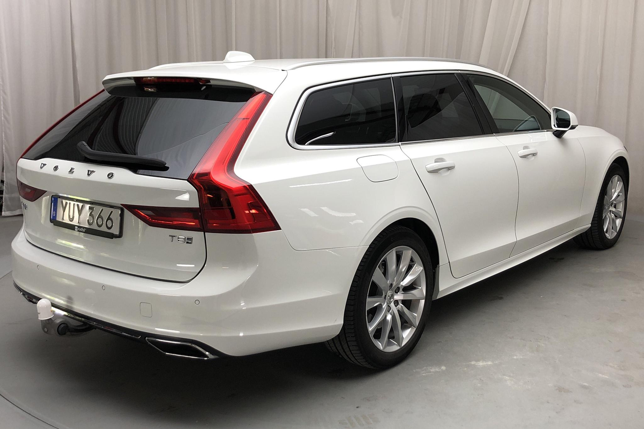 Volvo V90 T8 AWD Twin Engine (390hk) - 75 700 km - Automatic - white - 2019
