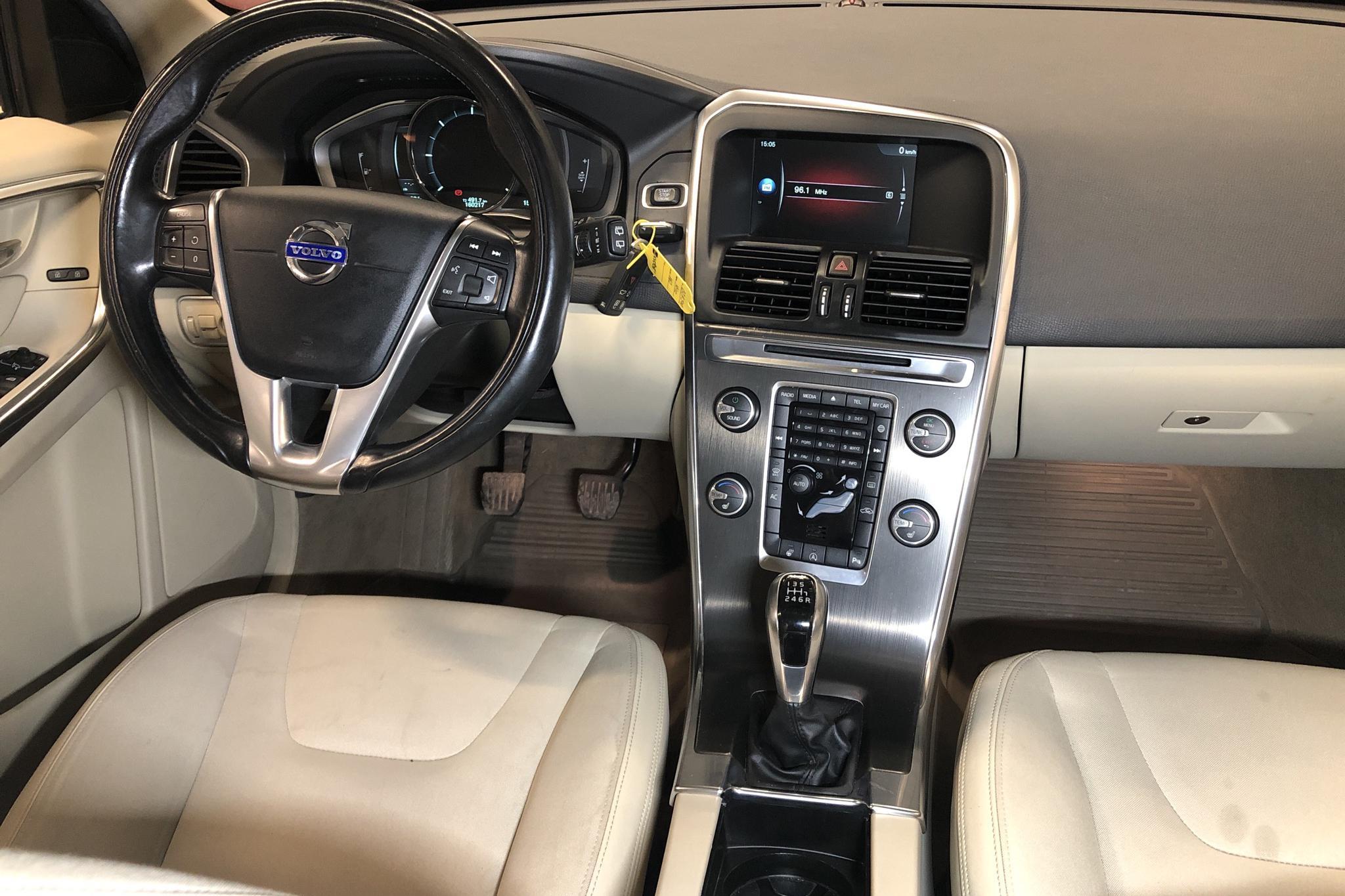 Volvo XC60 D4 2WD (181hk) - 160 210 km - Manual - blue - 2014