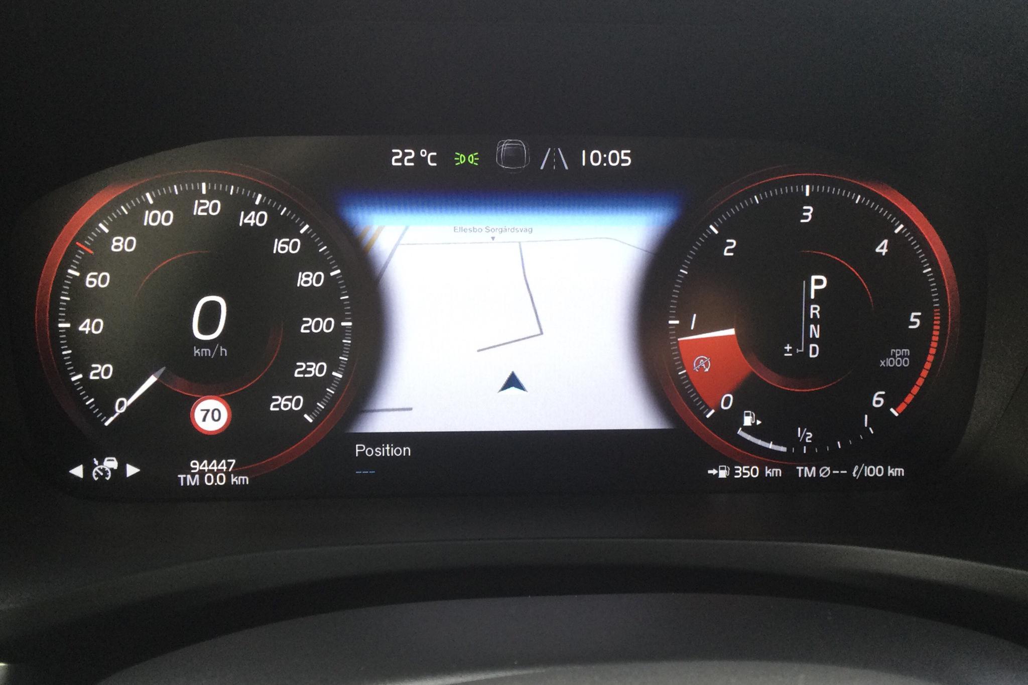 Volvo V60 D4 AWD (190hk) - 9 444 mil - Automat - vit - 2019