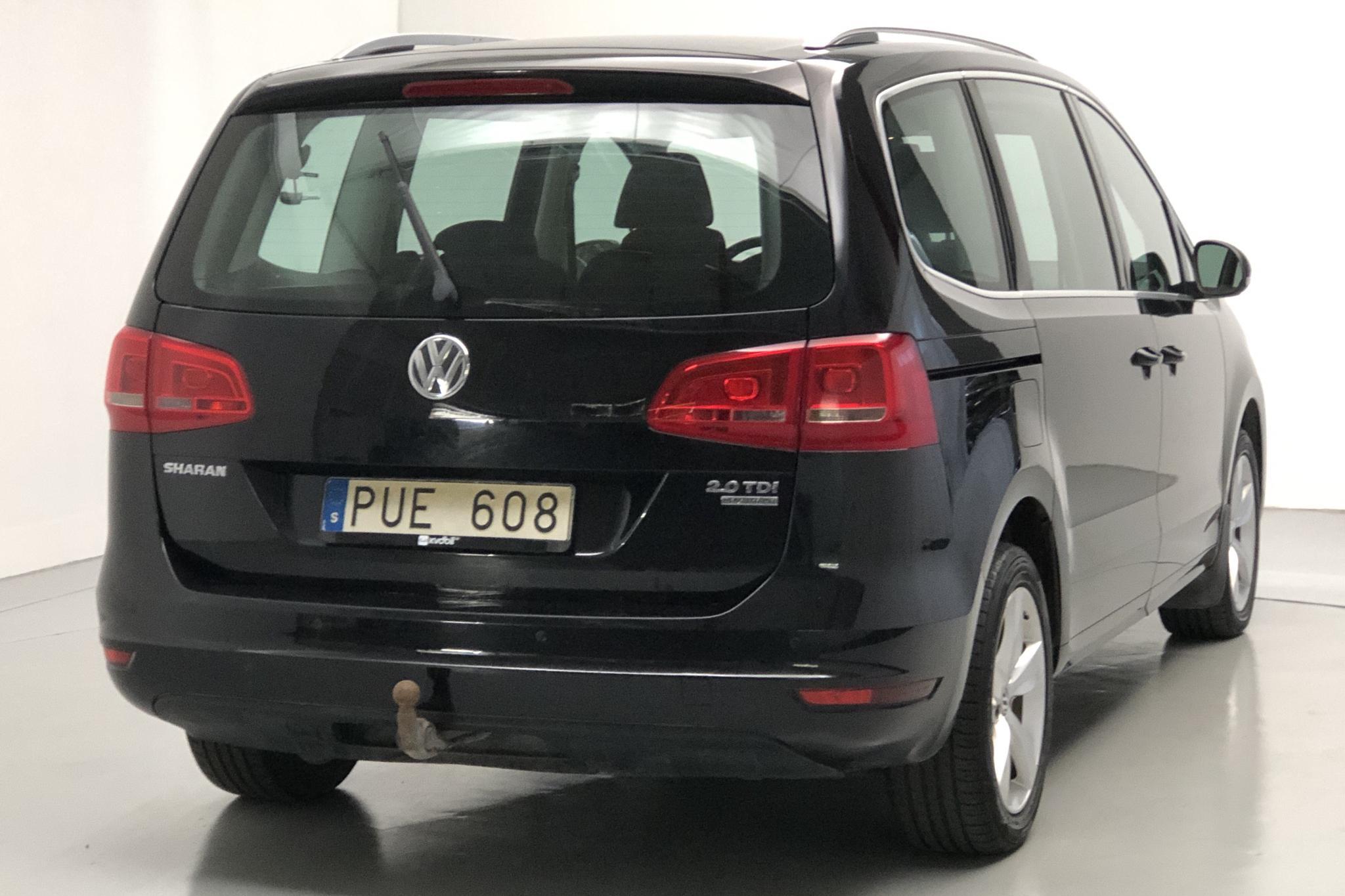 VW Sharan 2.0 TDI BlueMotion Technology 4motion (140hk) - 163 170 km - Manual - black - 2012
