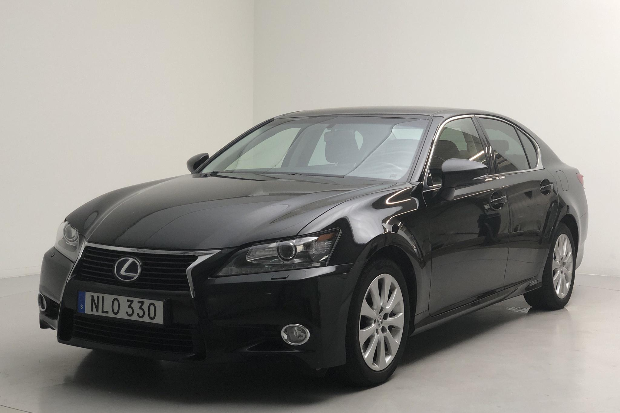 Lexus GS 300h (181hk) - 13 201 mil - Automat - svart - 2014