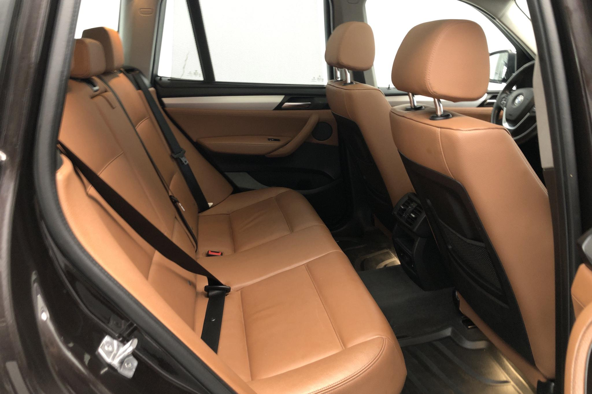 BMW X3 xDrive20d, F25 (190hk) - 154 980 km - Automatic - brown - 2016