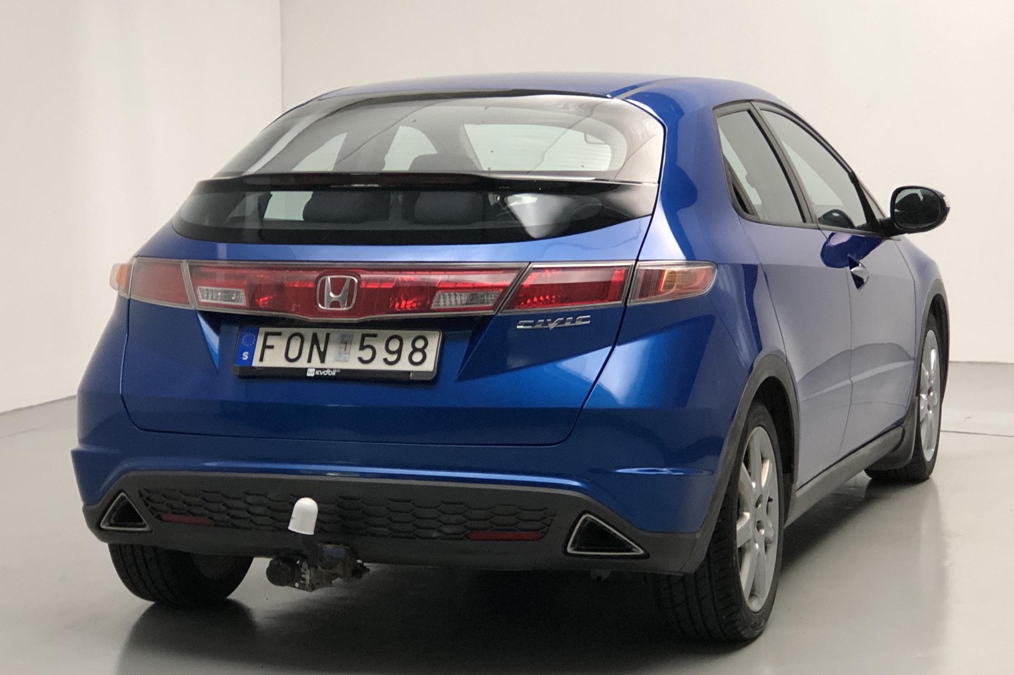 Honda Civic 1.8 5dr (140hk) - 160 550 km - Automatic - blue - 2007