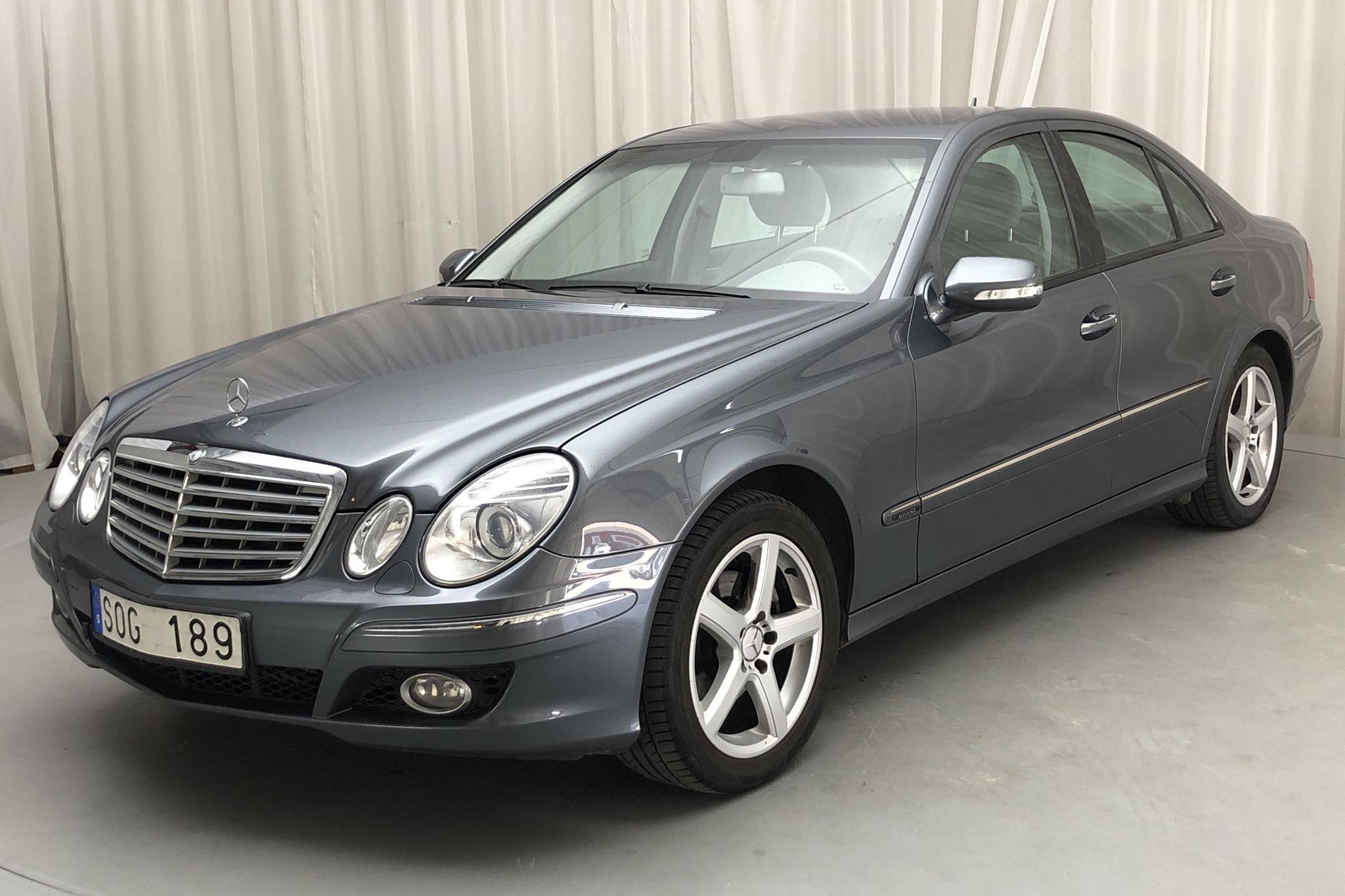 Mercedes E 280 W211 (231hk) - 16 705 mil - Automat - grå - 2007