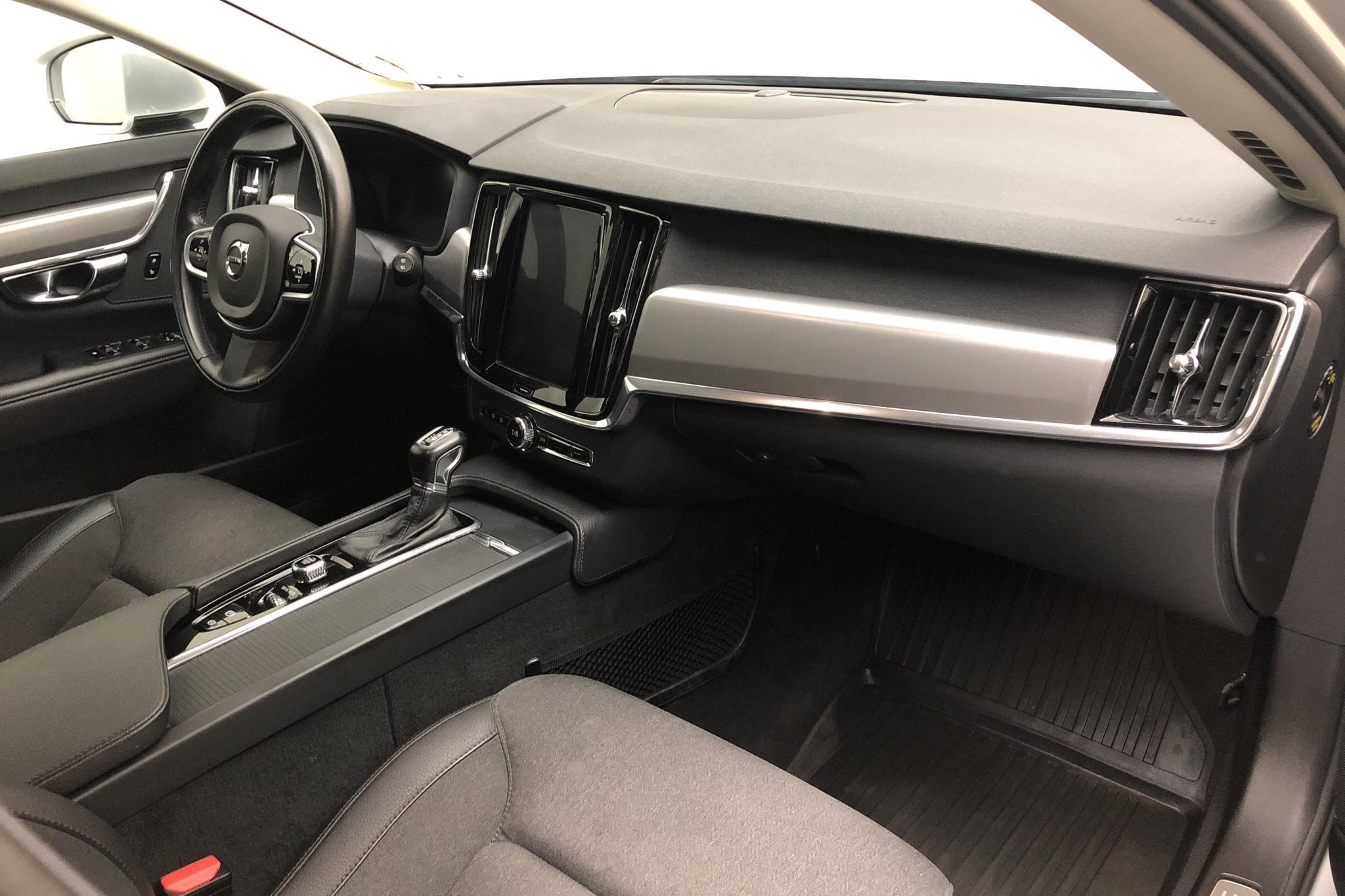 Volvo V90 D4 (190hk) - 142 300 km - Automatic - silver - 2018
