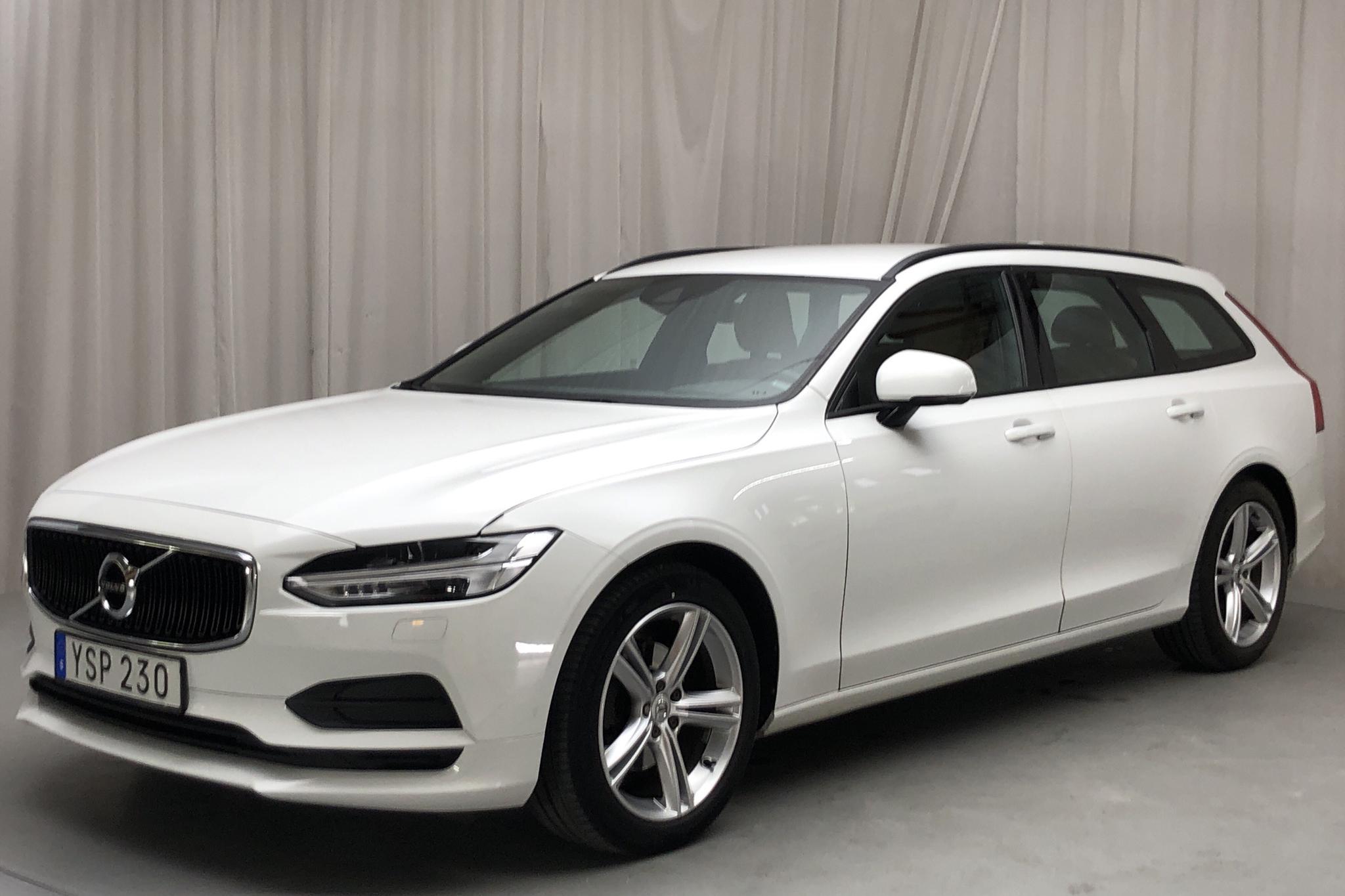 Volvo V90 D4 (190hk) - 16 293 mil - Automat - vit - 2018