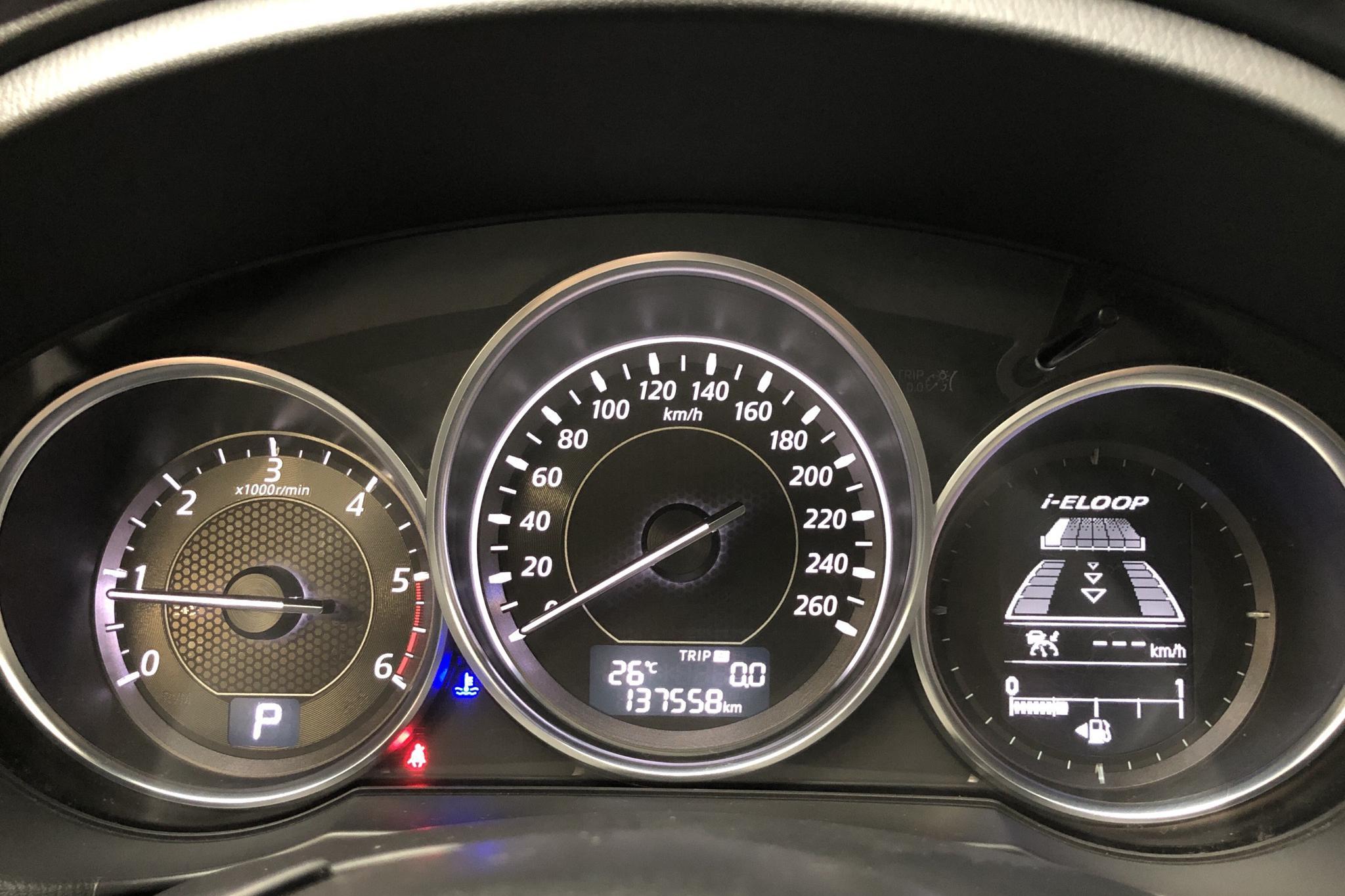 Mazda 6 2.2 DE Kombi (175hk) - 137 560 km - Automatic - gray - 2014