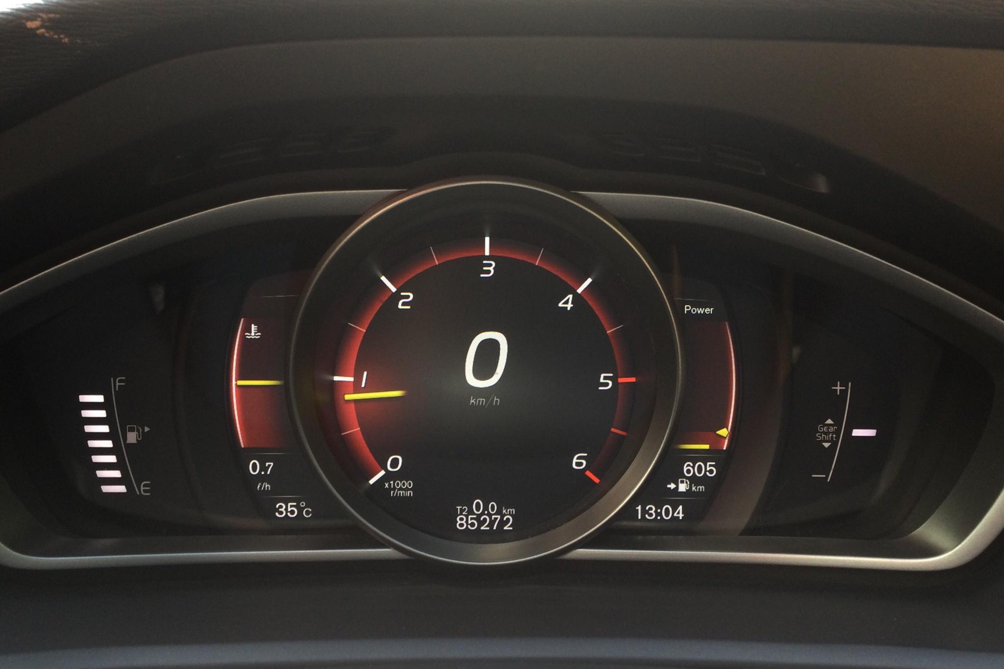 Volvo V40 D2 (120hk) - 8 527 mil - Manuell - svart - 2018