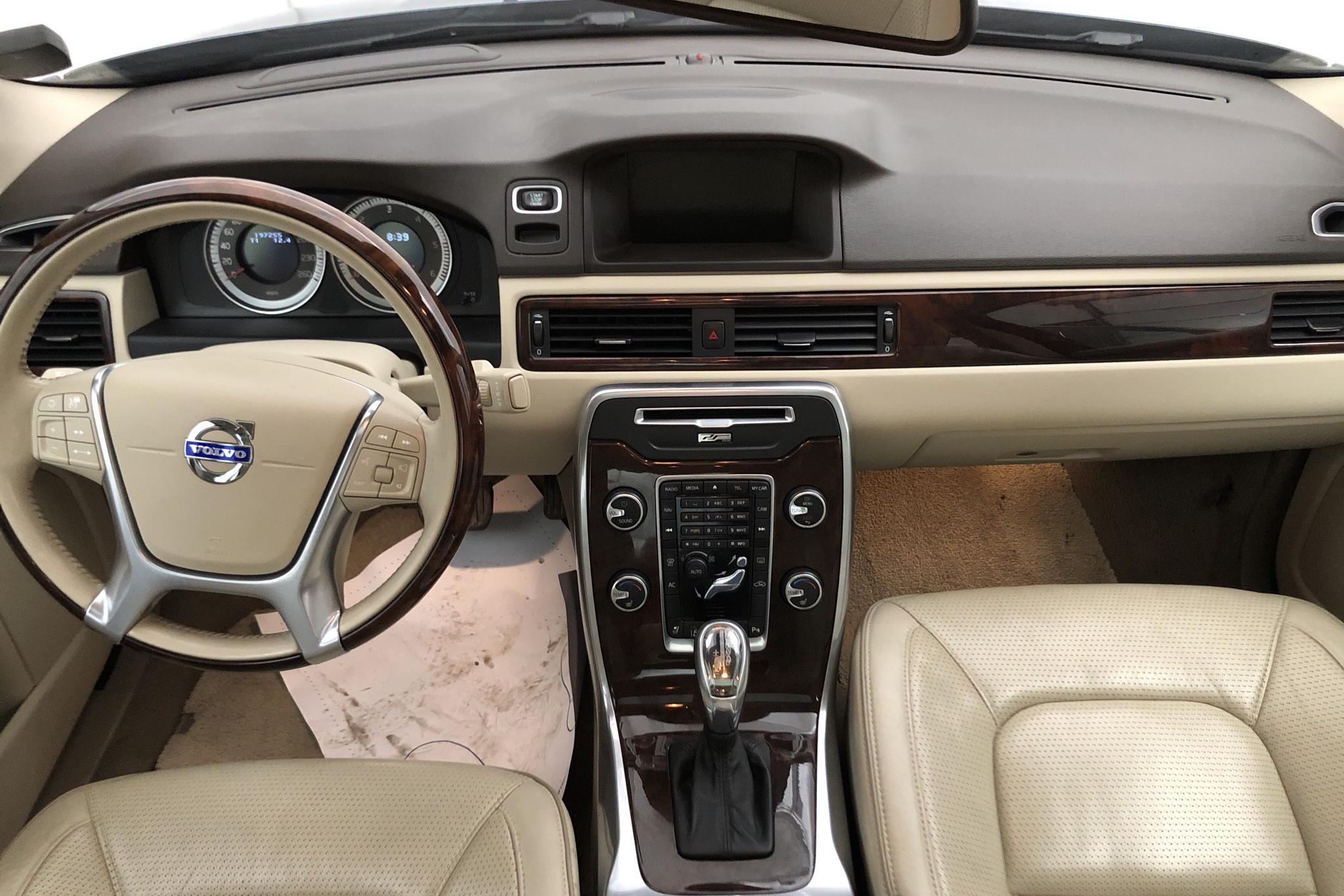Volvo S80 D5 (215hk) - 19 725 mil - Automat - blå - 2013