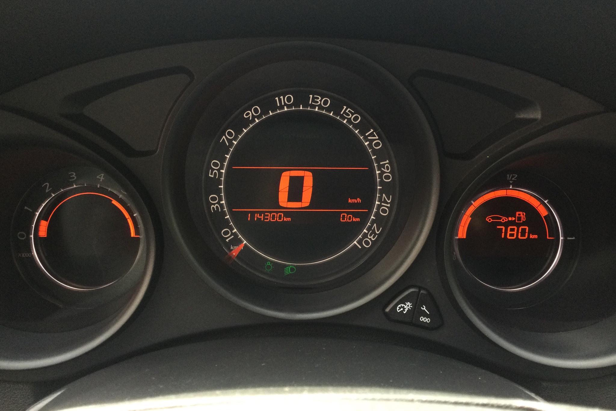 Citroen C4 1.6 HDi (110hk) - 114 300 km - Manual - silver - 2012