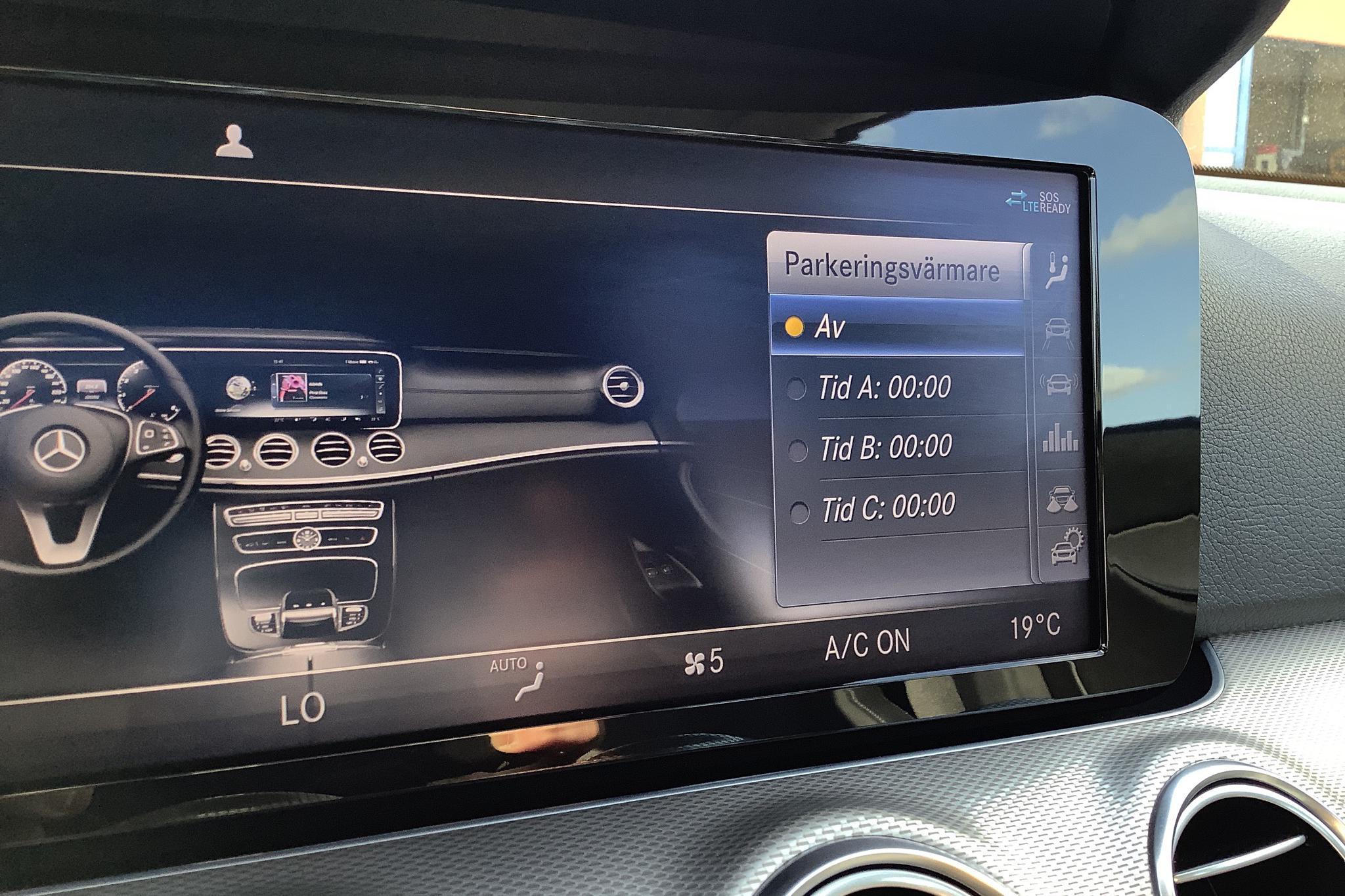 Mercedes E 220 d 4MATIC Sedan W213 (194hk) - 3 418 mil - Automat - grå - 2018