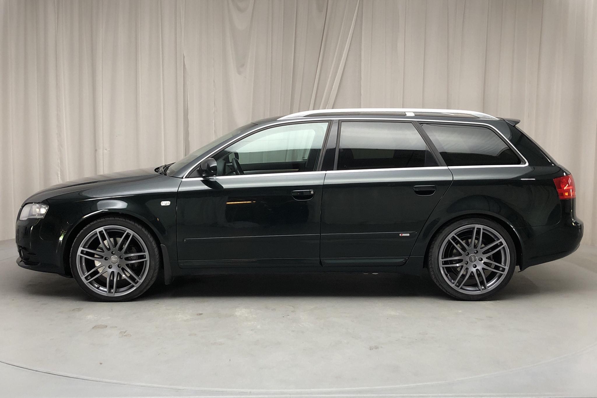 Audi A4 3.0 TDI Avant quattro (233hk) - 226 800 km - Automatic - Dark Green - 2008
